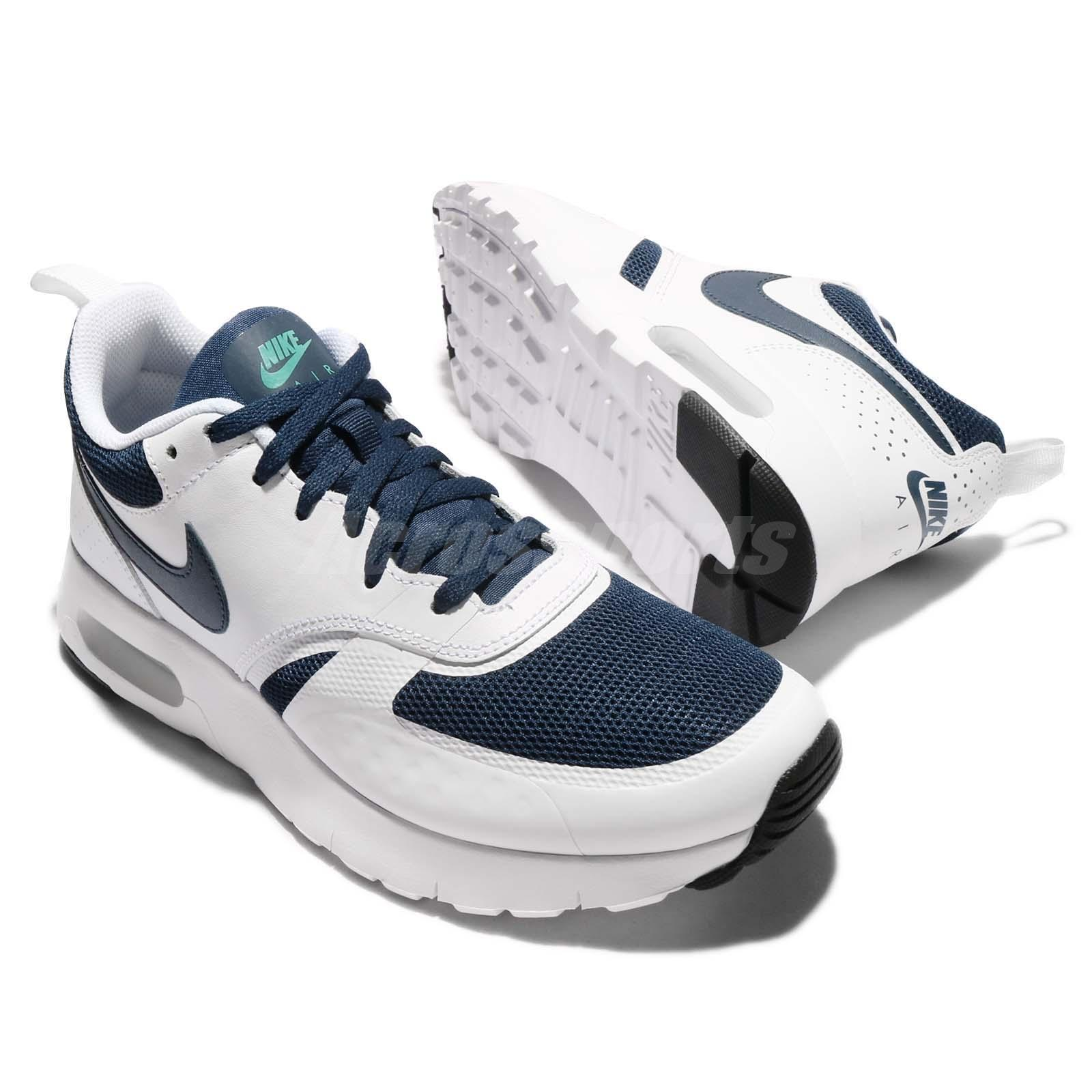 online store eee5d cd4e5 Nike Air Max Vision GS Midnight Navy Kids Boys Girls Running Shoes  917857-400