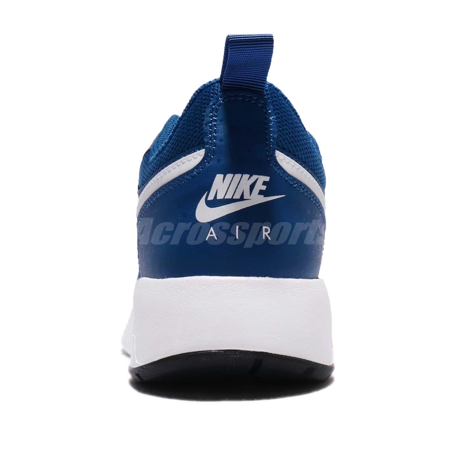 best service bd0a3 e0273 Nike Air Max Vision GS Gym Blue White Kids Women Running Shoe Sneaker 917857 -402