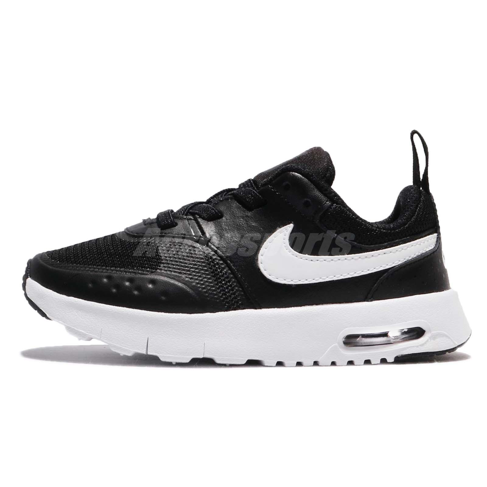 d178c01cb5e Nike Air Max Vision TDE Black White Toddler Infant Baby Shoes Sneaker  917860-009