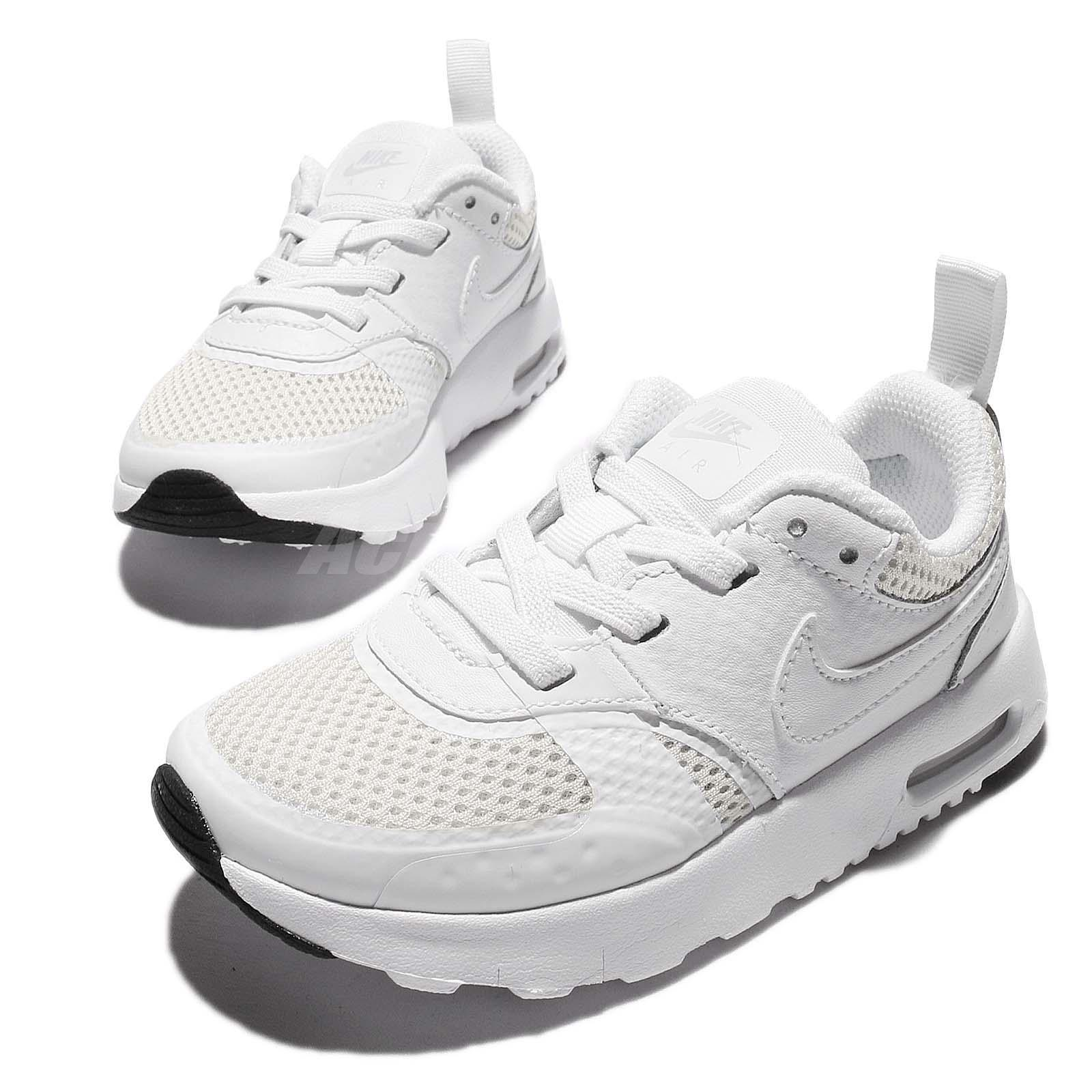 fd54f1d9dde Nike Air Max Vision TDE White Toddler Infant Baby Running Shoes ...