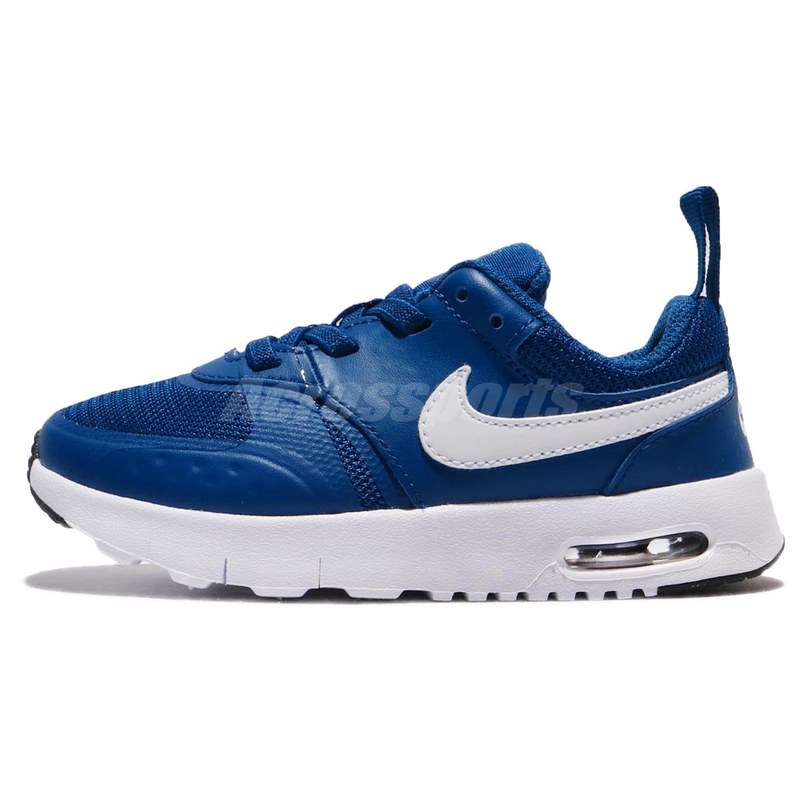 Nike Air Max Vision TDE Gym Blue White Toddler Infant Baby Shoes
