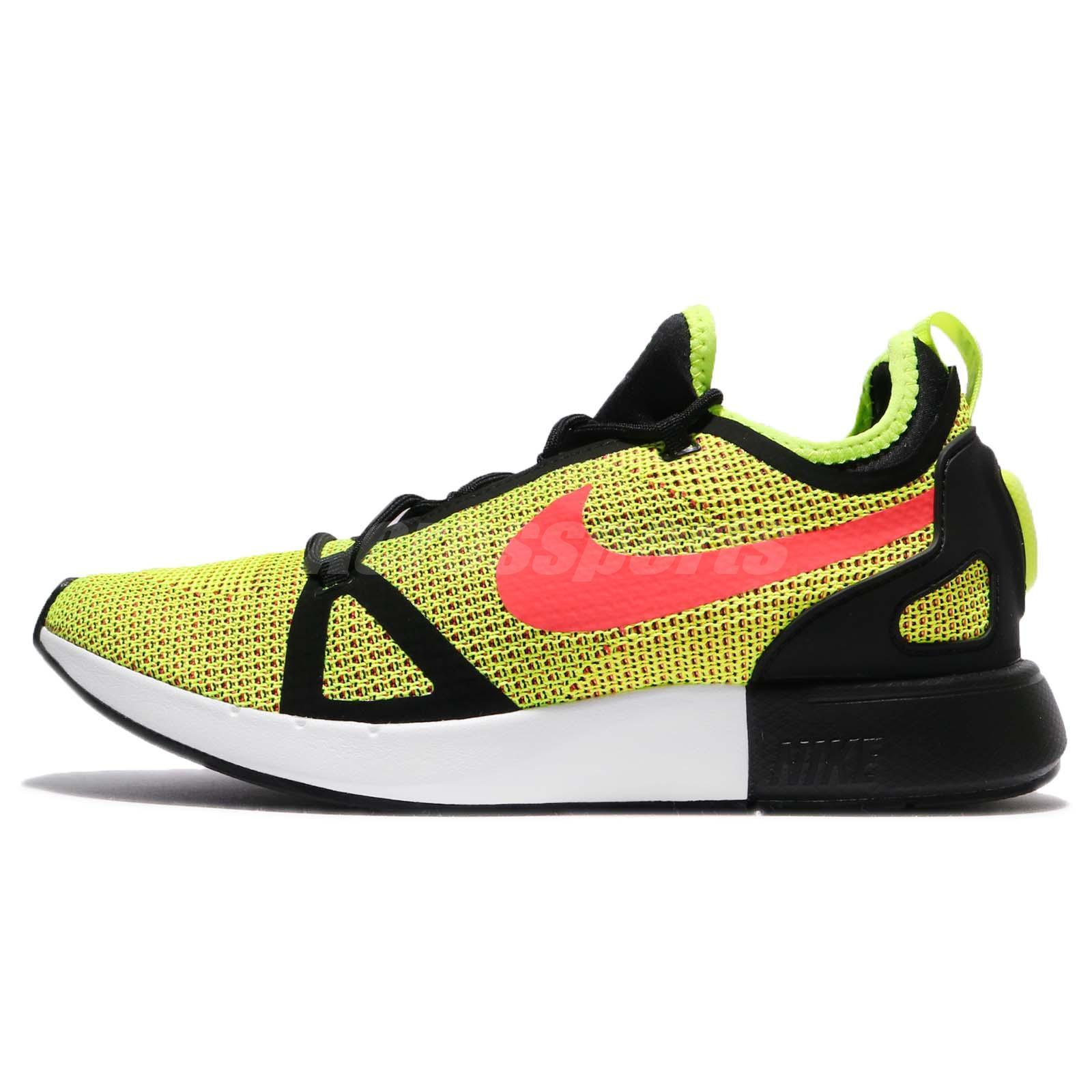Nike Duel Racer Volt Bright Crimson Black 918228-700 Msrp 0 Ae