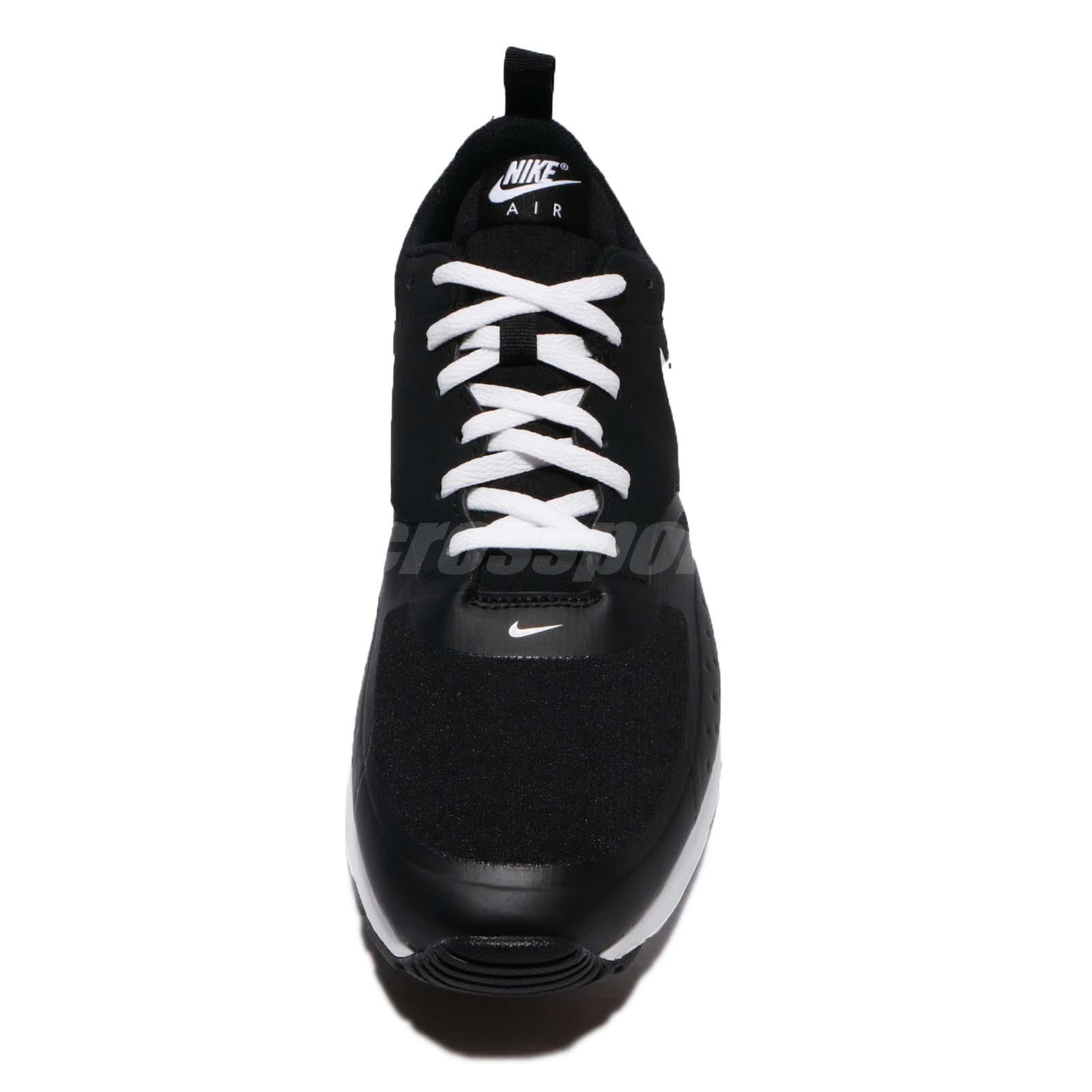 buy online e8b2e 1fb7f Nike Air Max Vision Black White Men Running Shoes Sneakers Trainers ...