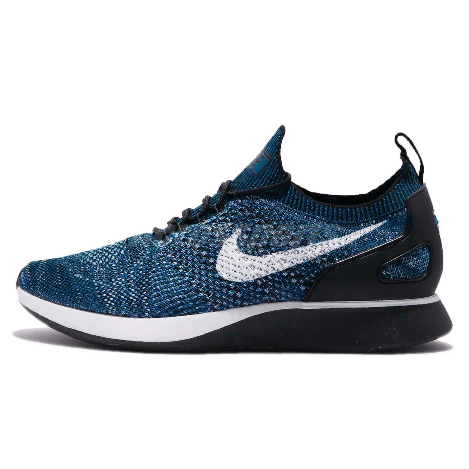 buy popular 11d27 87b5c Nike Air Zoom Mariah Flyknit Racer Cirrus Blue Navy Black Men Running  918264-300