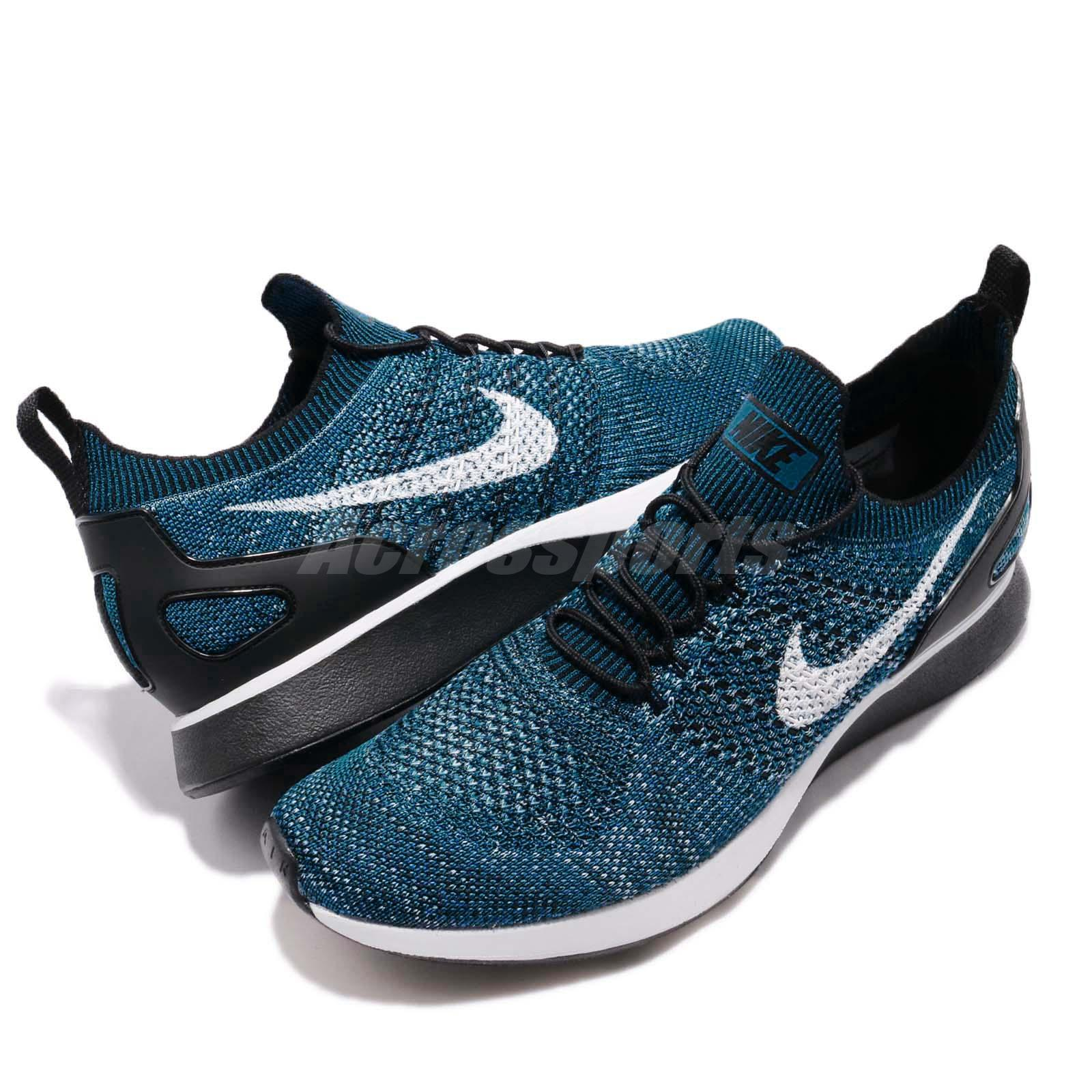 db65a840d2728 Nike Air Zoom Mariah Flyknit Racer Cirrus Blue Navy Black Men ...