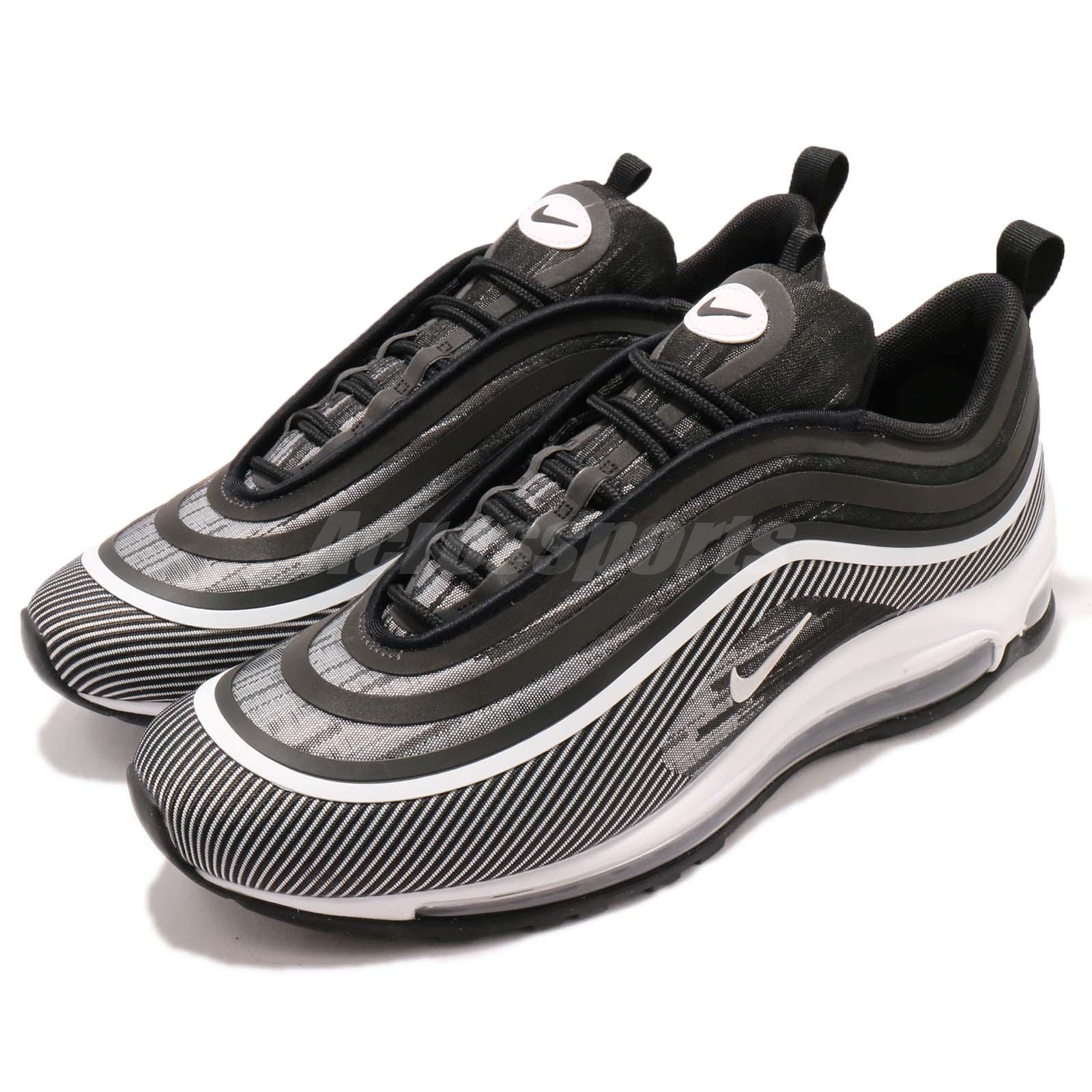 Details about Nike Air Max 97 UL 17 Ultra Black White Men Running Shoes  Sneakers 918356-006 9f224b61f