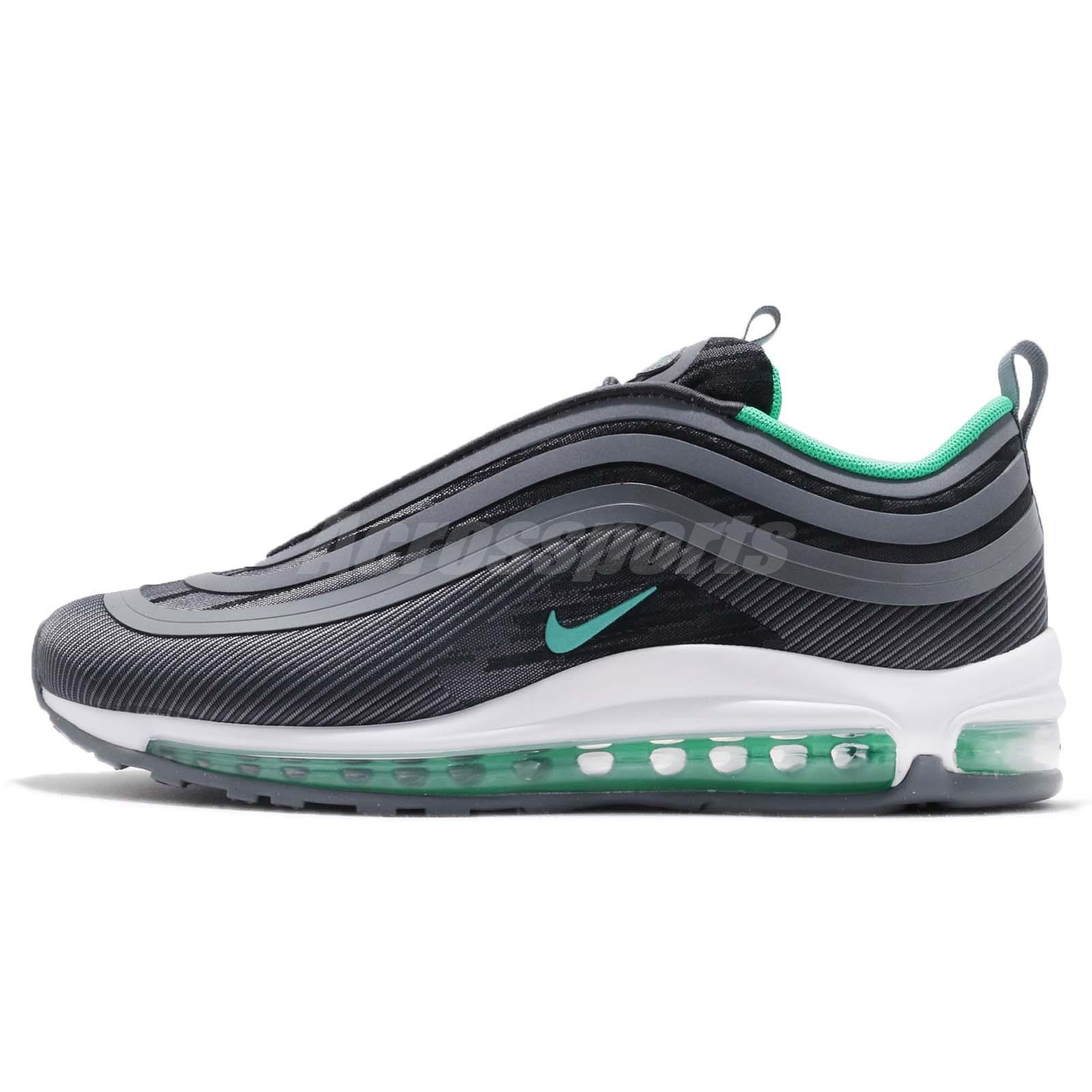 d7ad2cfa6f Nike Air Max 97 UL 17 Anthracite Menta Men Running Shoes Sneakers 918356-009