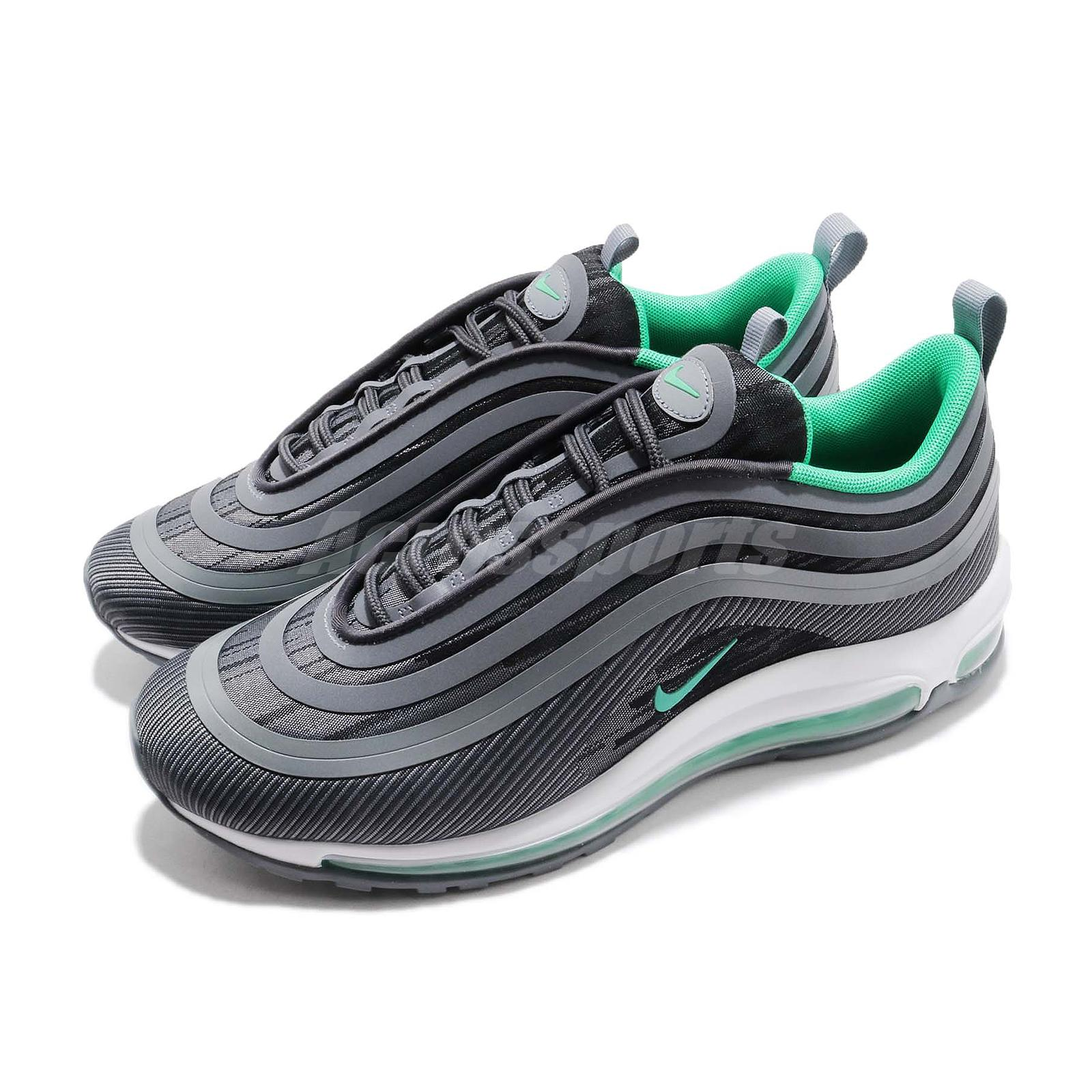 huge selection of 1ad93 c8a01 Details about Nike Air Max 97 UL 17 Anthracite Menta Men Running Shoes  Sneakers 918356-009