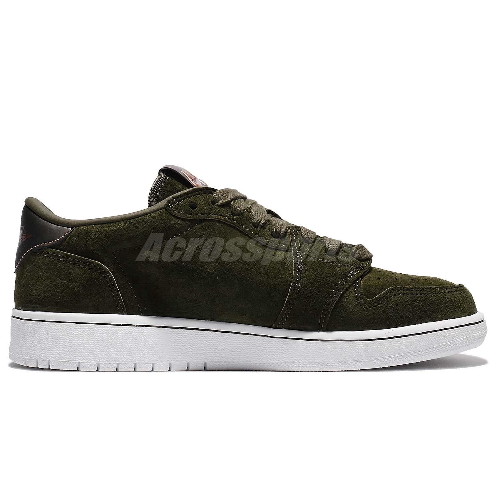 Nike Air Jordan 1 Retro Low Ns Hc Heiress Collection Legion Green Kid 919705-330 Women's Shoes