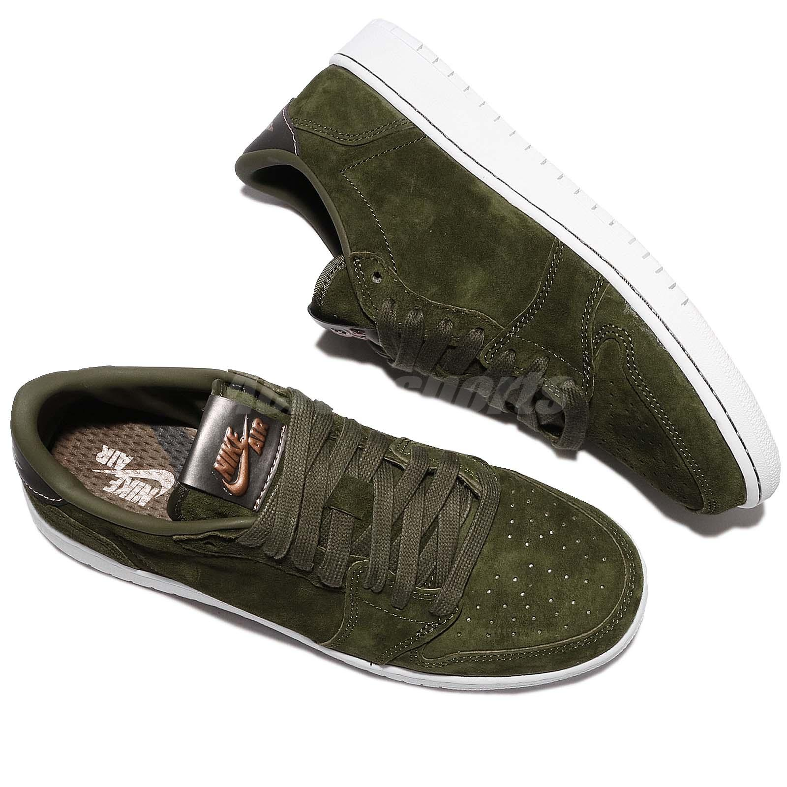 Clothing, Shoes & Accessories Nike Air Jordan 1 Retro Low Ns Hc Heiress Collection Legion Green Kid 919705-330 Women's Shoes