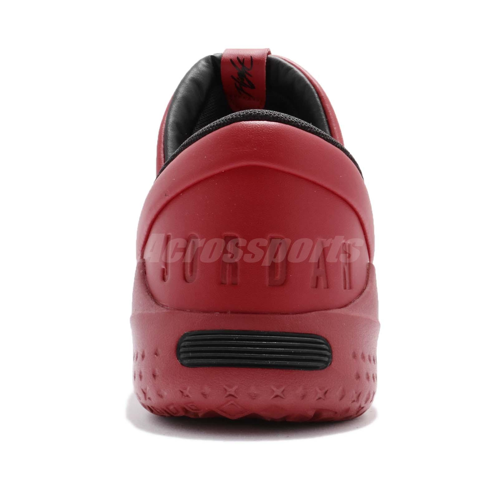 777d1cfccee0b5 Nike Jordan Flight Luxe Gym Red Black Bulls Men Shoes Sneakers ...