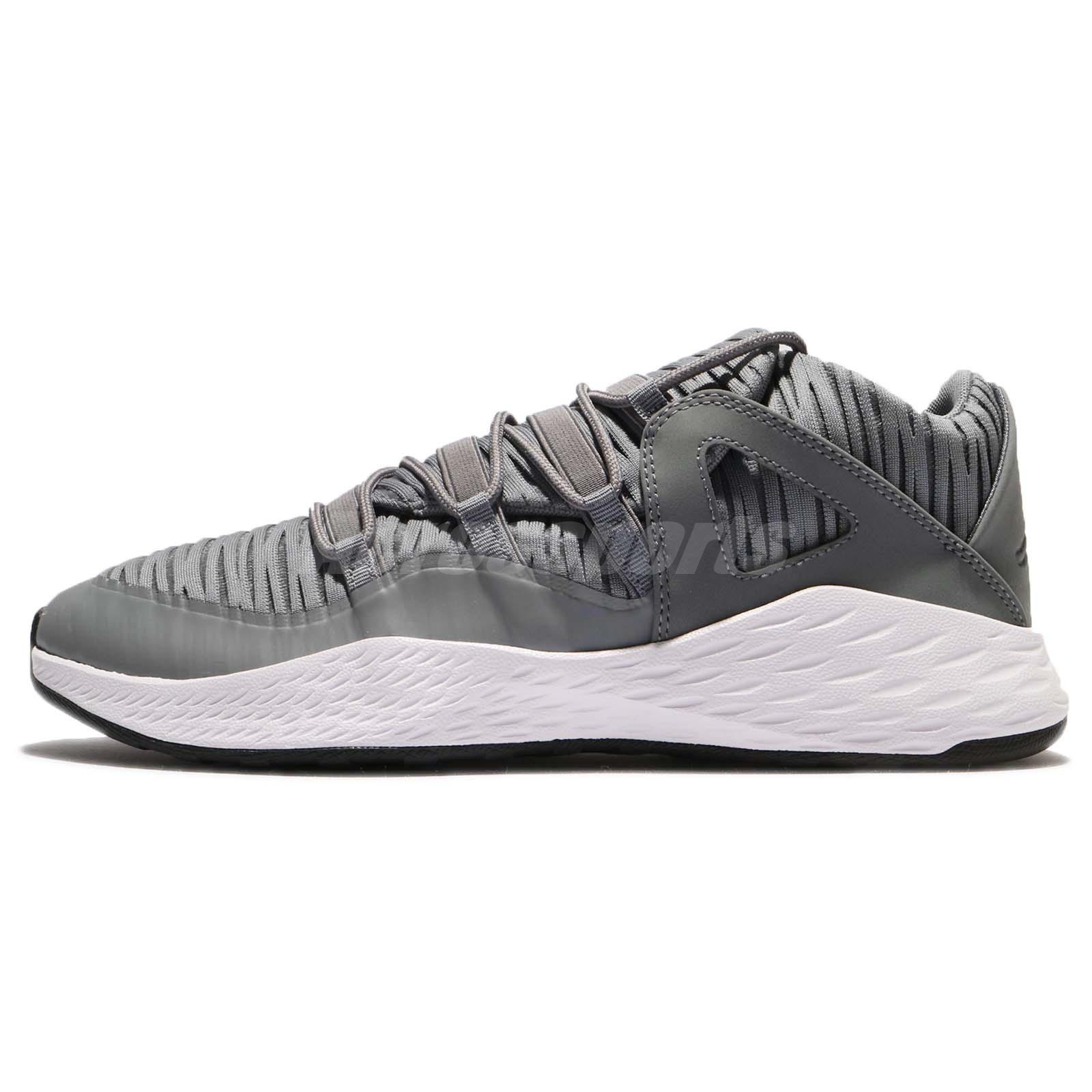 edaeea1ca97 Nike Jordan Formula 23 Low Cool Grey White Men Lifestyle Shoes AJX 919724- 004
