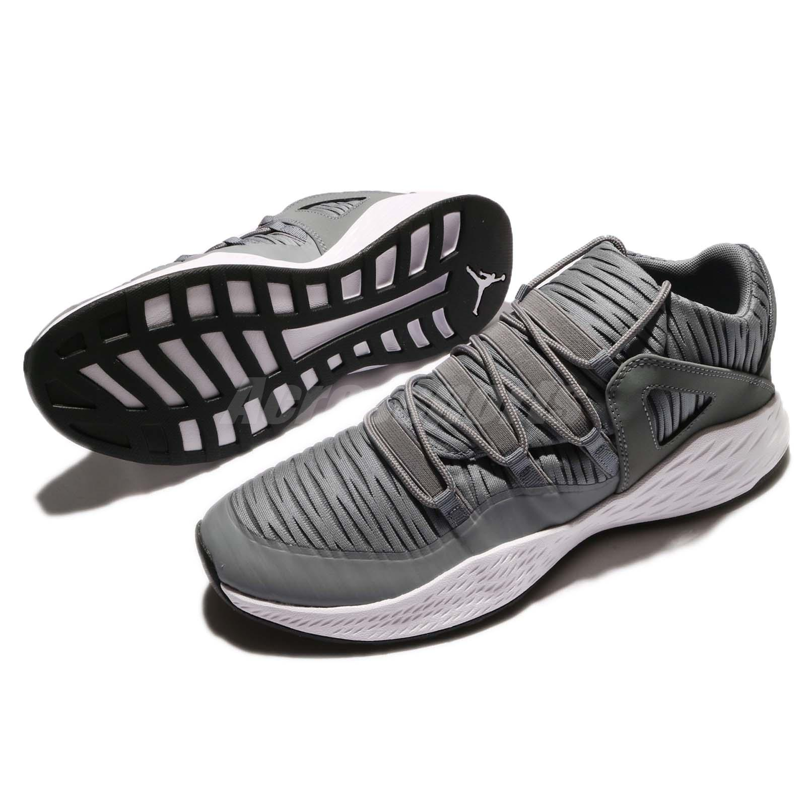 296a61c58aa0 Nike Jordan Formula 23 Low Cool Grey White Men Lifestyle Shoes AJX ...