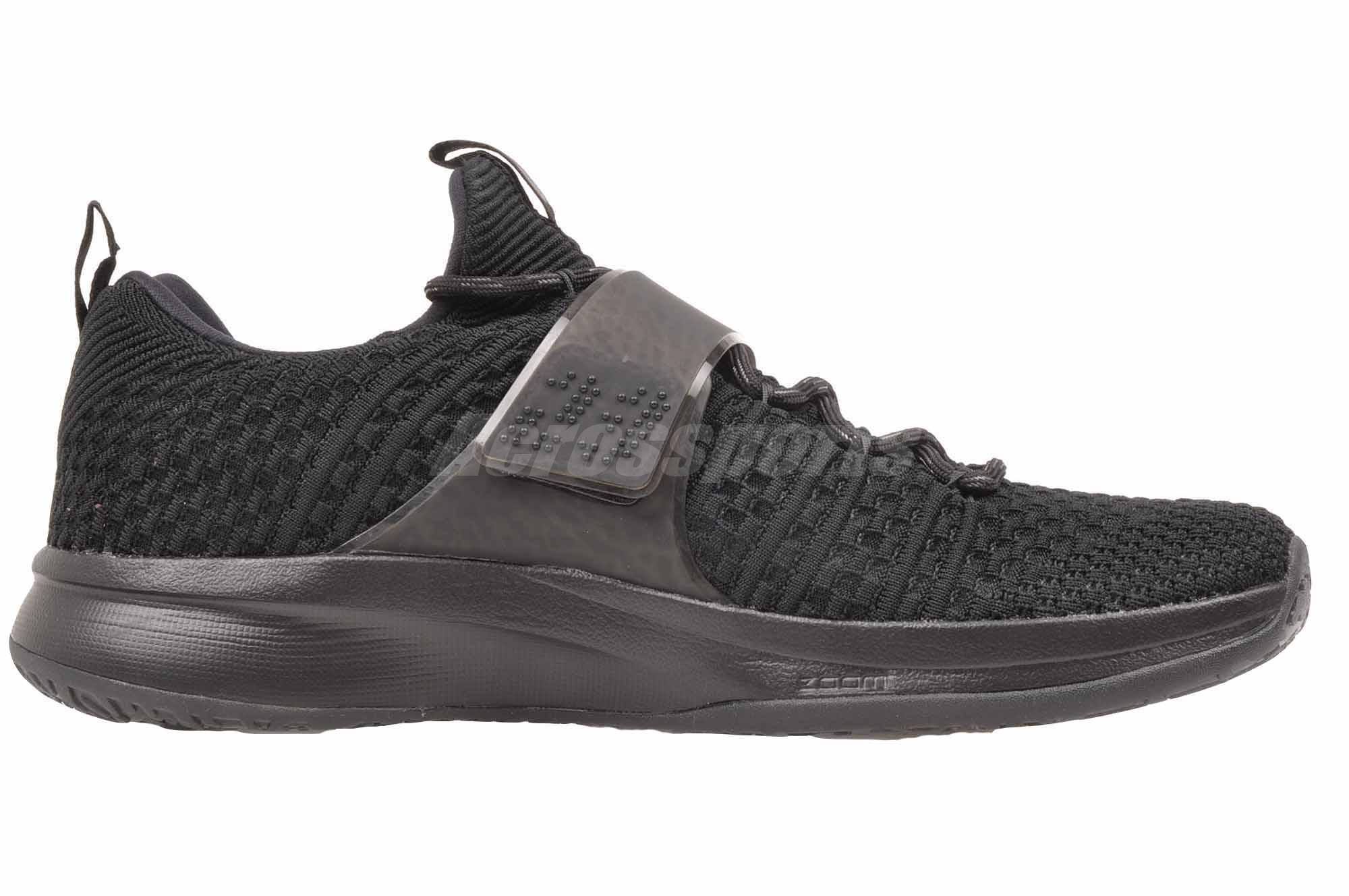 11311af7fc6 Nike Jordan Trainer 2 Flyknit Cross Training Mens Shoes Air Black ...