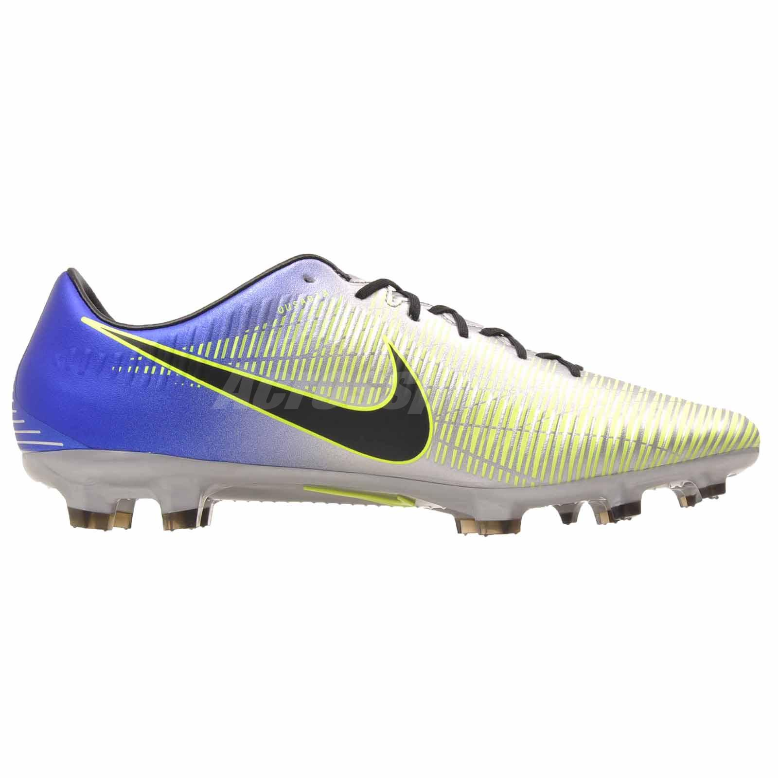 differently 062a4 322cd Nike Mercurial Veloce III NJR FG Neymar Soccer Mens Shoes Cleats ...