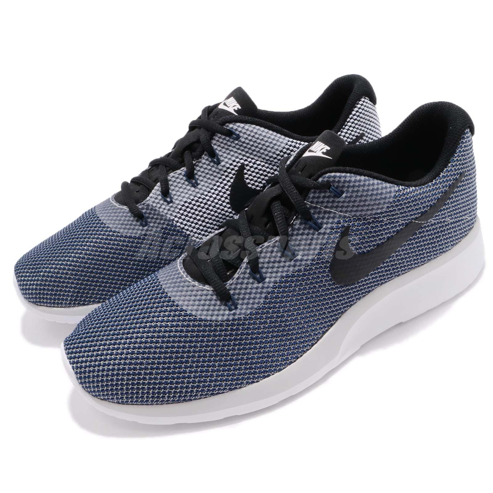 info for 81d91 9608e Details about Nike Tanjun Racer Vast Grey Navy Men Running Shoes Sneakers  Trainers 921669-005