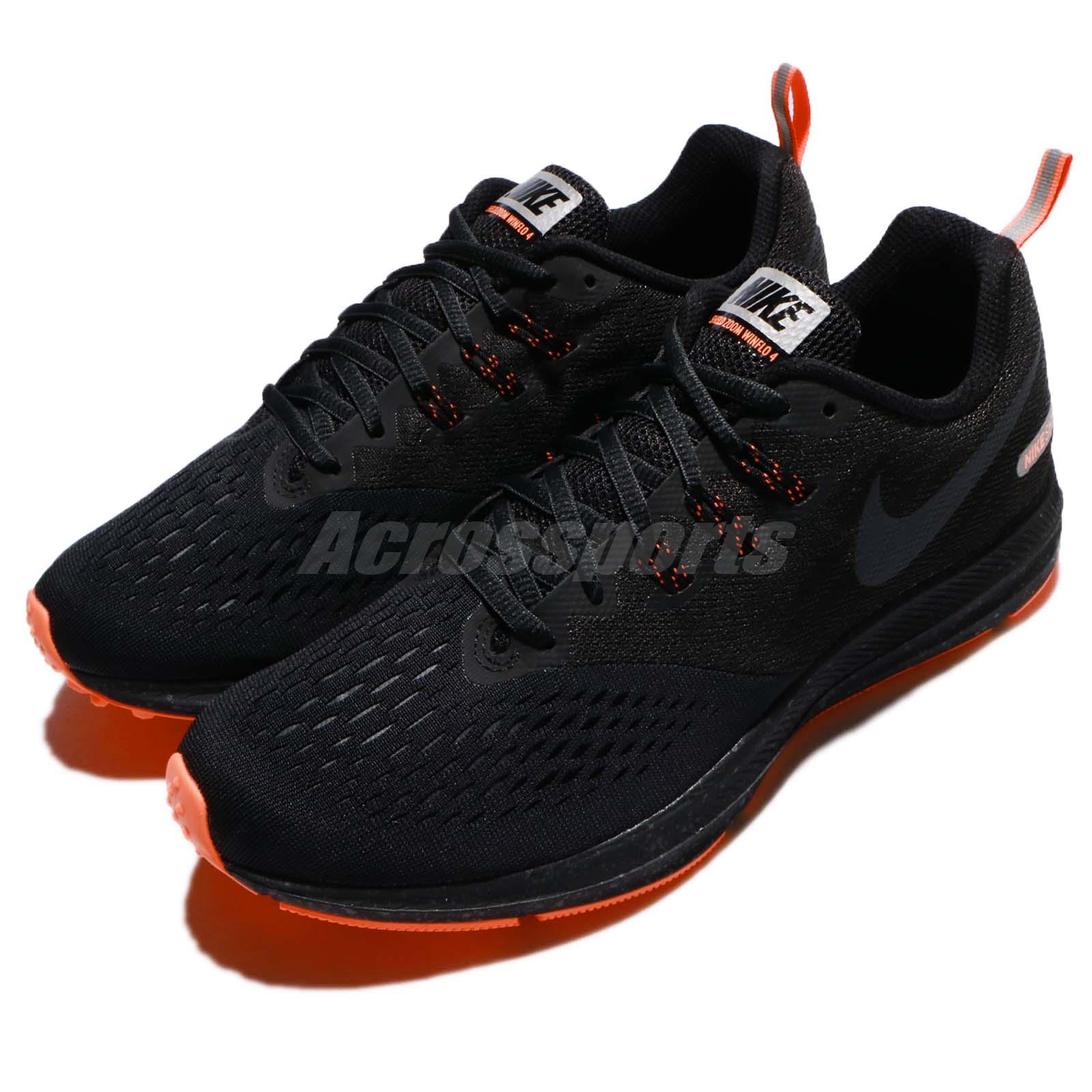 Details about Nike Zoom Winflo 4 IV Shield Black Anthracite Red Men Running  Shoes 921704-001 158c681175154