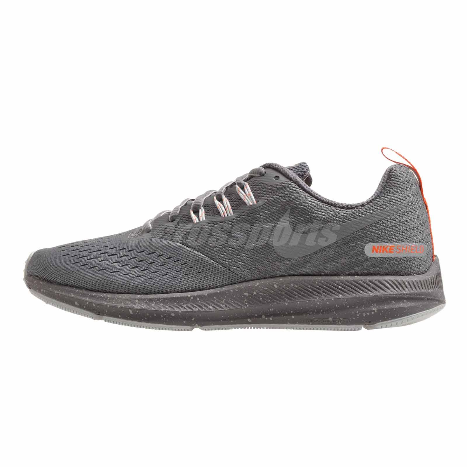 quality design 896f9 88481 Details about Nike Wmns Zoom Winflo 4 Shield Running Womens Shoes Cool Grey  Repel 921721-004