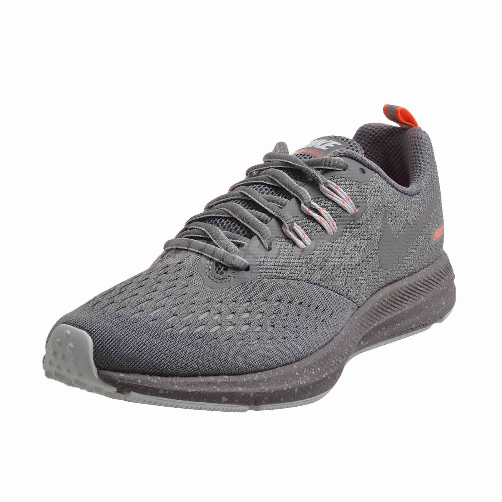 Details about Nike Wmns Zoom Winflo 4 Shield Running Womens Shoes Cool Grey Repel 921721 004