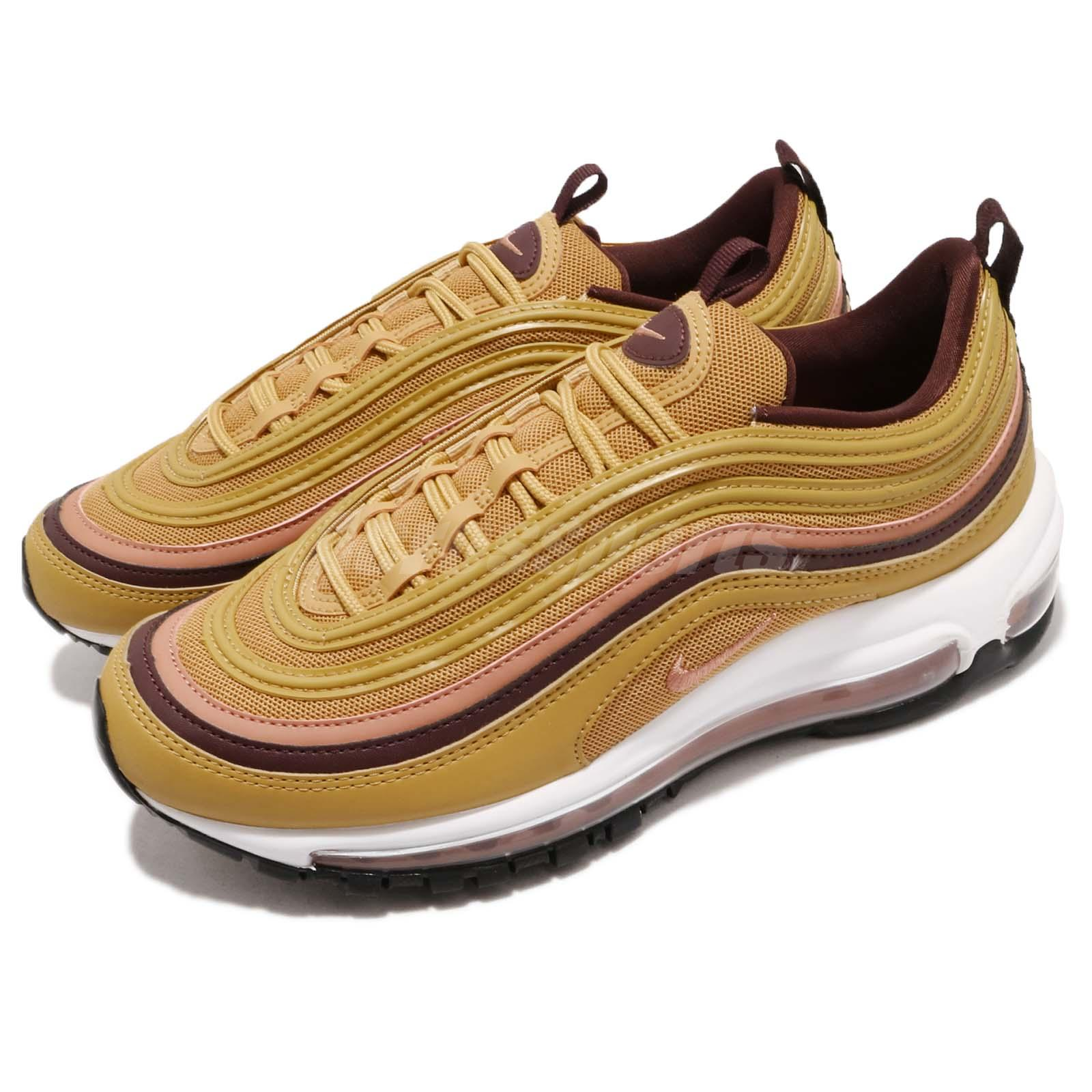 new style c20fd 12808 Details about Nike Wmns Air Max 97 Mustard Wheat Gold Womens Running Shoes  Sneakers 921733-700