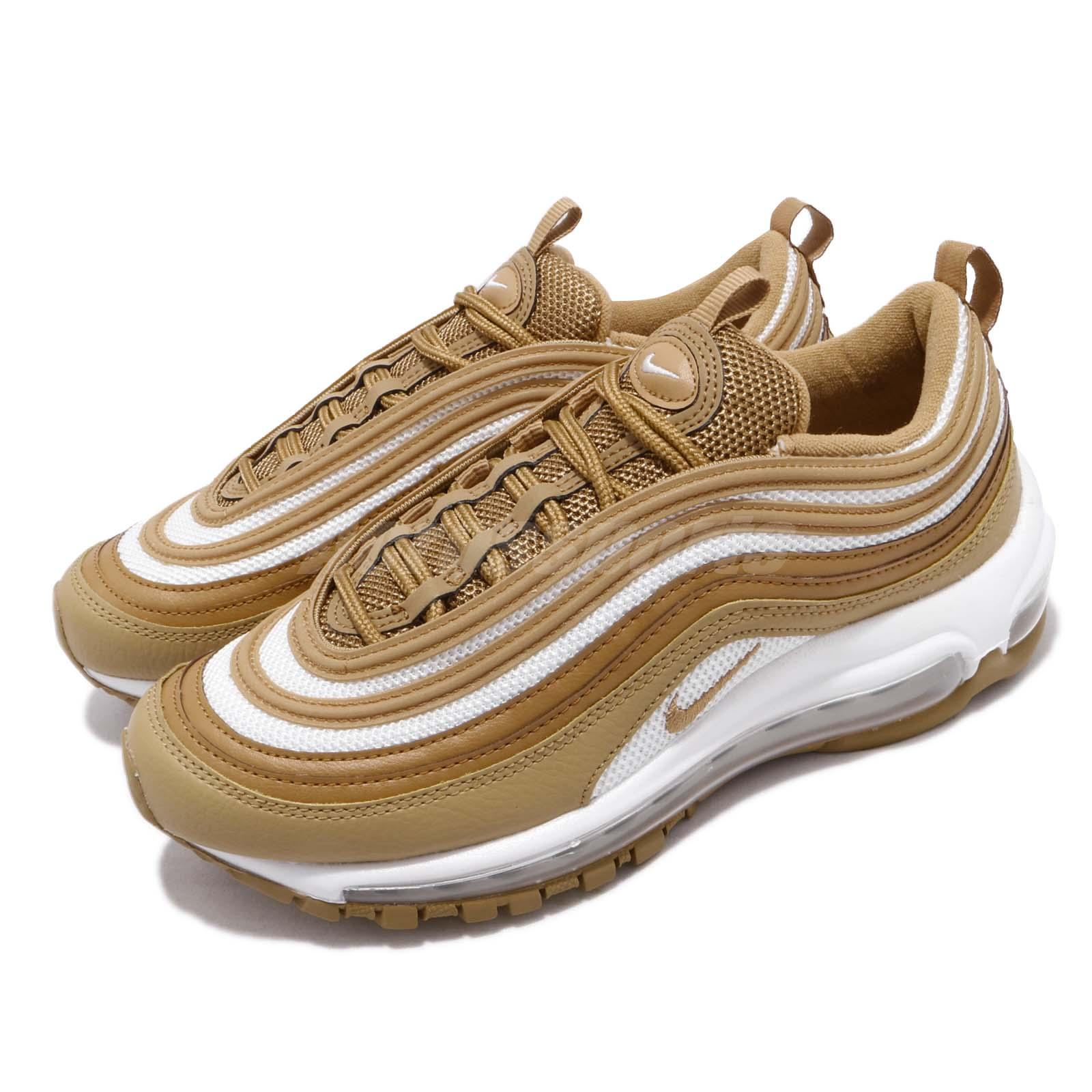Details about Nike Wmns Air Max 97 Wheat Club Gold Women Running Shoes Sneakers 921733 702