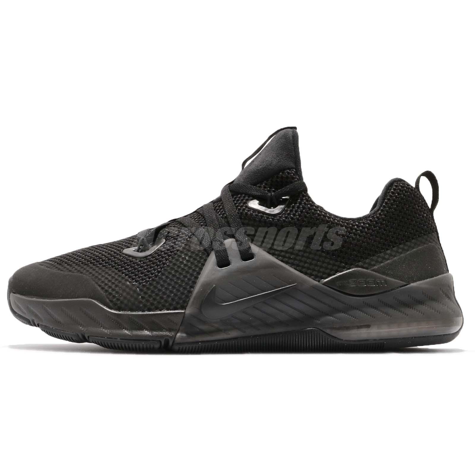 pretty nice d97f9 11e0c Nike Zoom Train Command Triple Black Men Cross Training Shoes Sneaker  922478-004