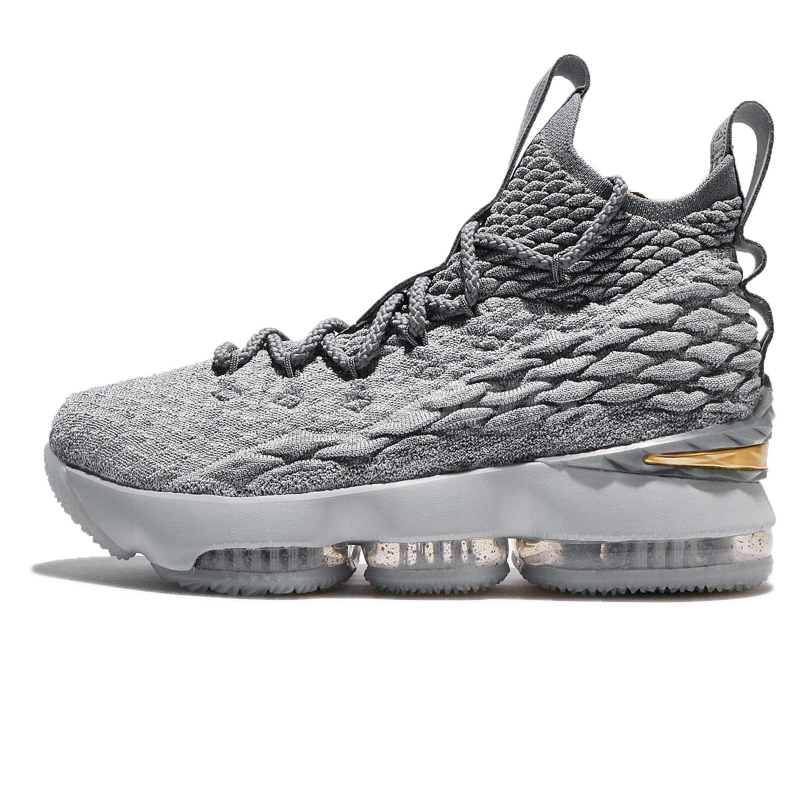 sneakers for cheap 0b846 a022d ... where to buy nike lebron xv gs 15 wolf grey gold city edition kid women  basketball