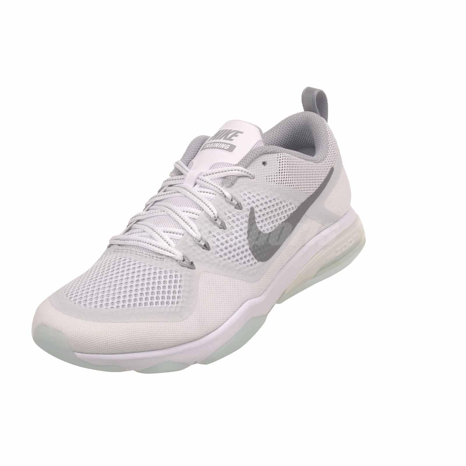 92b93b0605638 Nike Air Zoom Fitness Reflect Cross Training Womens Shoes White ...