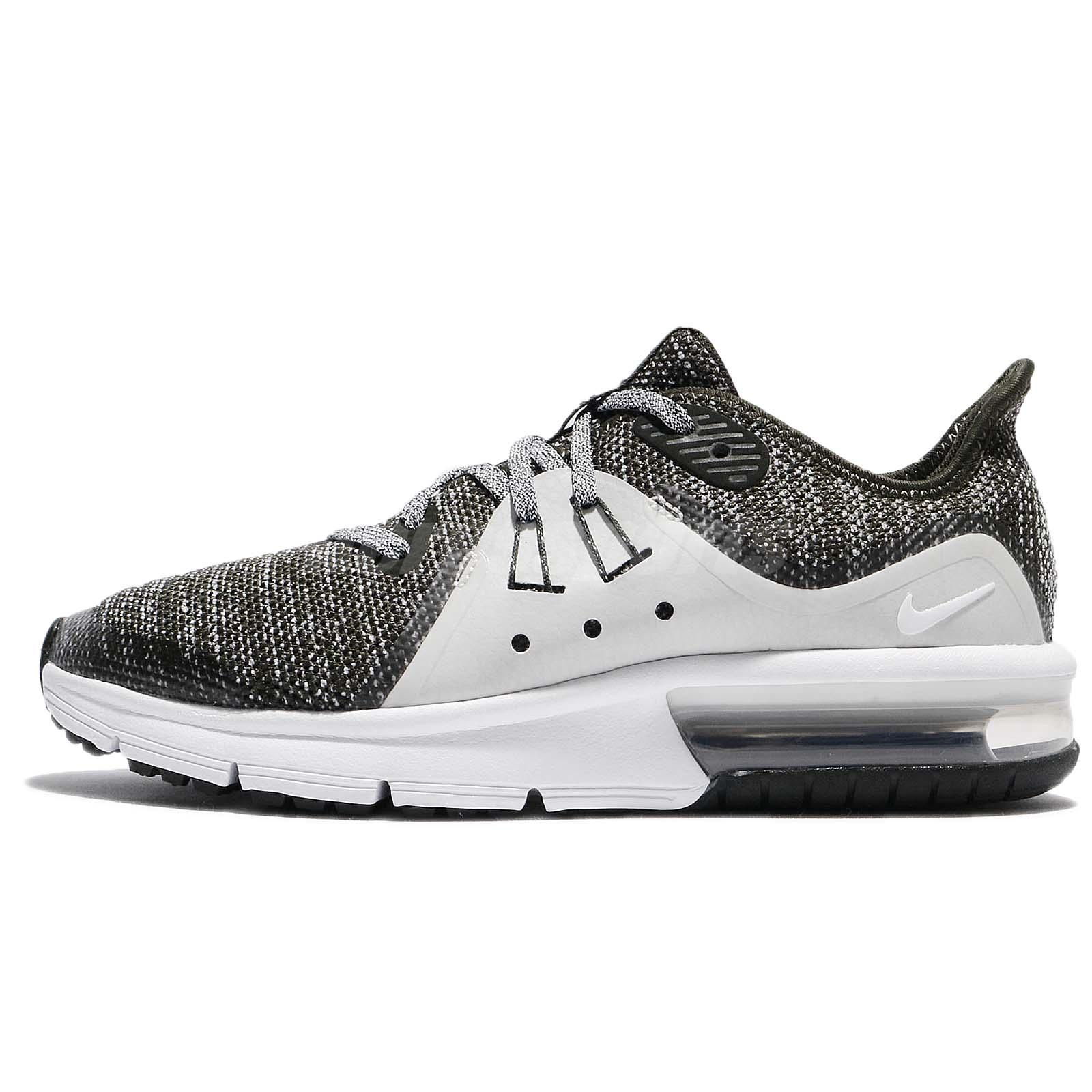 newest collection 197b0 f7c80 Nike Air Max Sequent 3 III GS Sequoia White Bone Kids Women Running 922884- 300