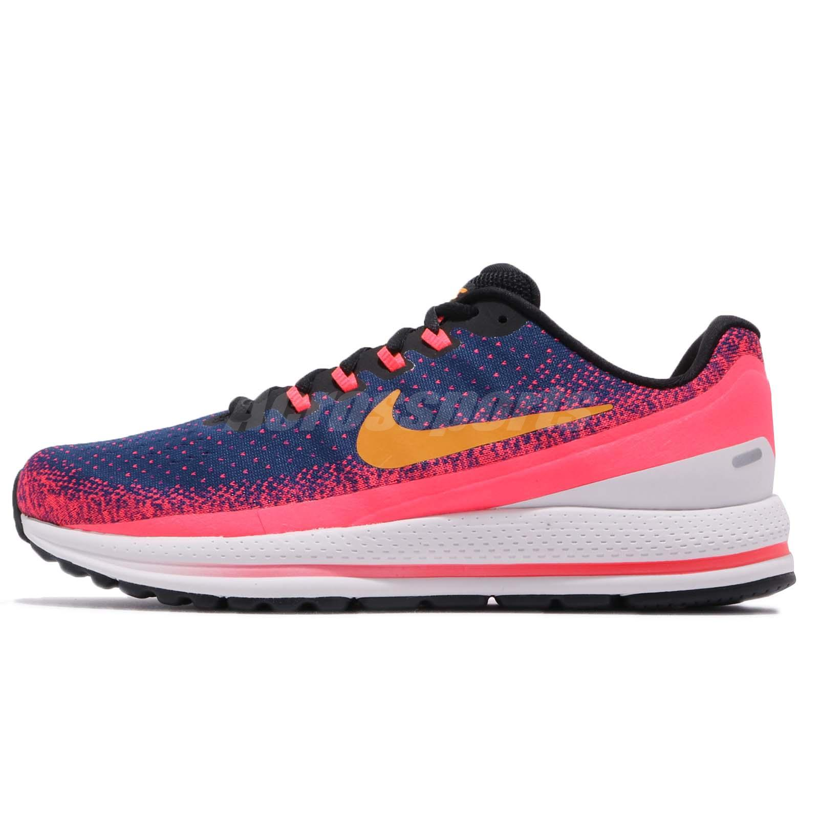 new concept e9e90 462d8 Nike Air Zoom Vomero 13 XIII Blue Void Orange Peel Men Running Shoes 922908 -483