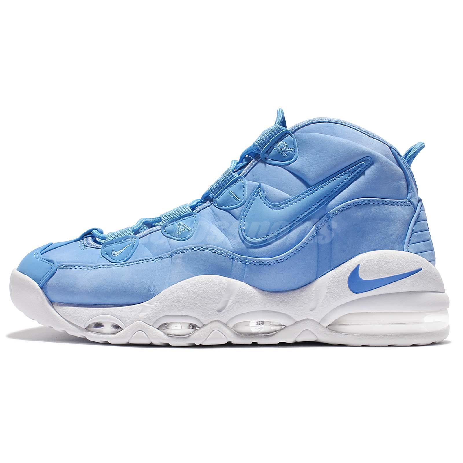 Nike Air Max 2 Uptempo 95 Comme Qs Para Hombre, Université Bleu / Bleu Caroline / Bleu Caroline, 9,5 M