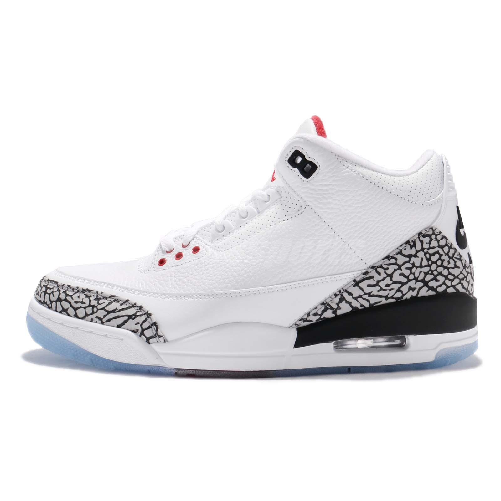 7c0bbf220a9e7 Nike Air Jordan 3 Retro NRG III Free Throw Line Dunk 88 White Cement  923096-101