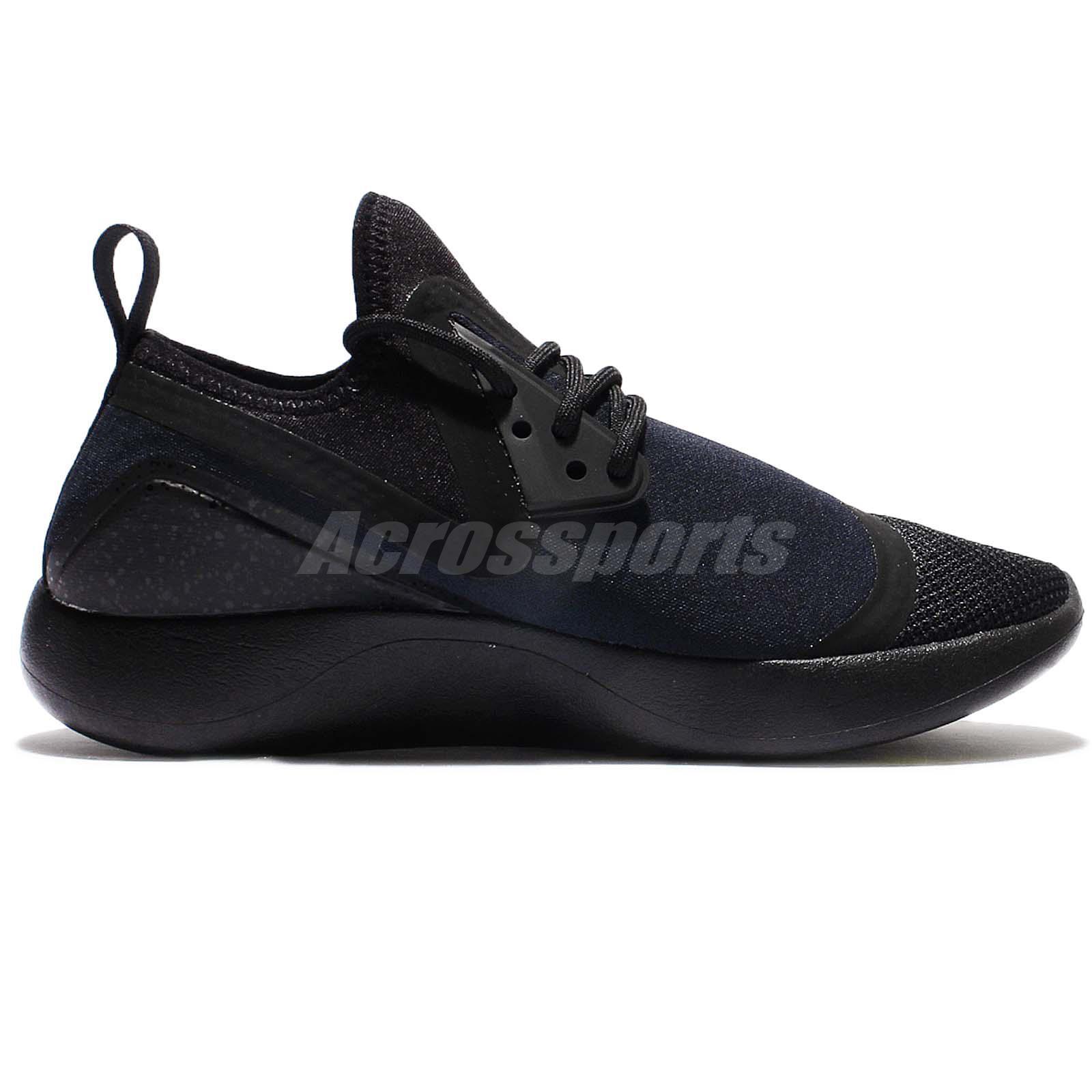 NEW NIKE LUNARCHARGE ESSENTIAL Running Shoe 923619-007 Men sz 9.5 Black Obsidian