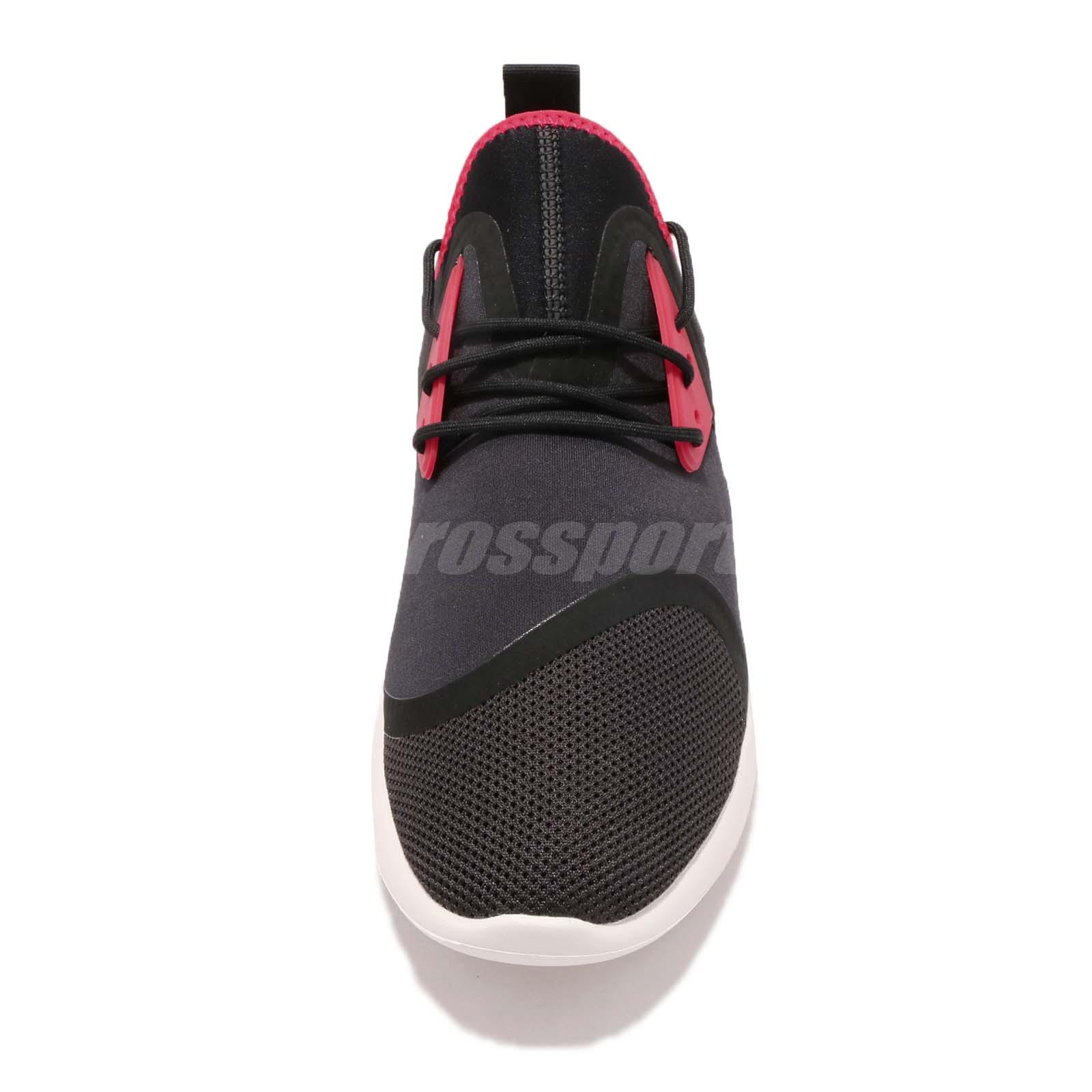 Nike Lunarcharge Essential Black Red Men Running Shoes Sneakers ... 8b5648668