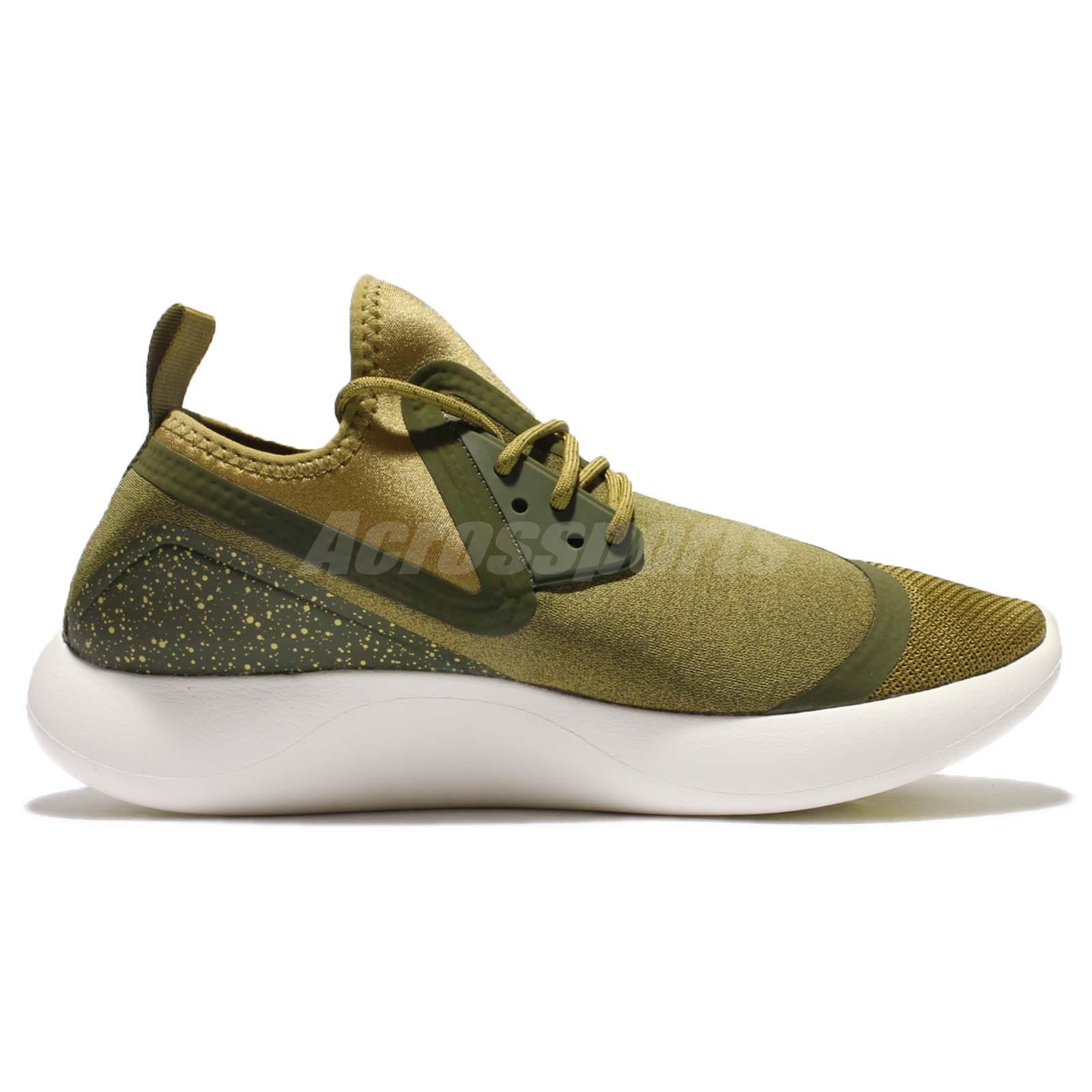 Nike Lunarcharge Essential Camper Green Men Running Shoes Sneakers 923619-300