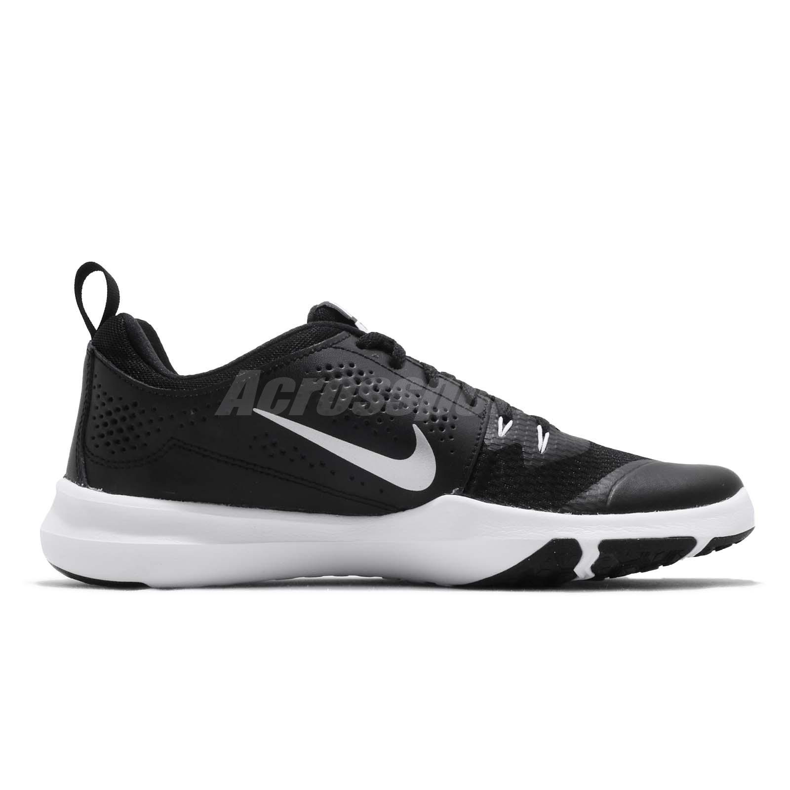 673b4e0d741 Nike Legend Trainer Black Silver White Men Cross Training Shoes ...
