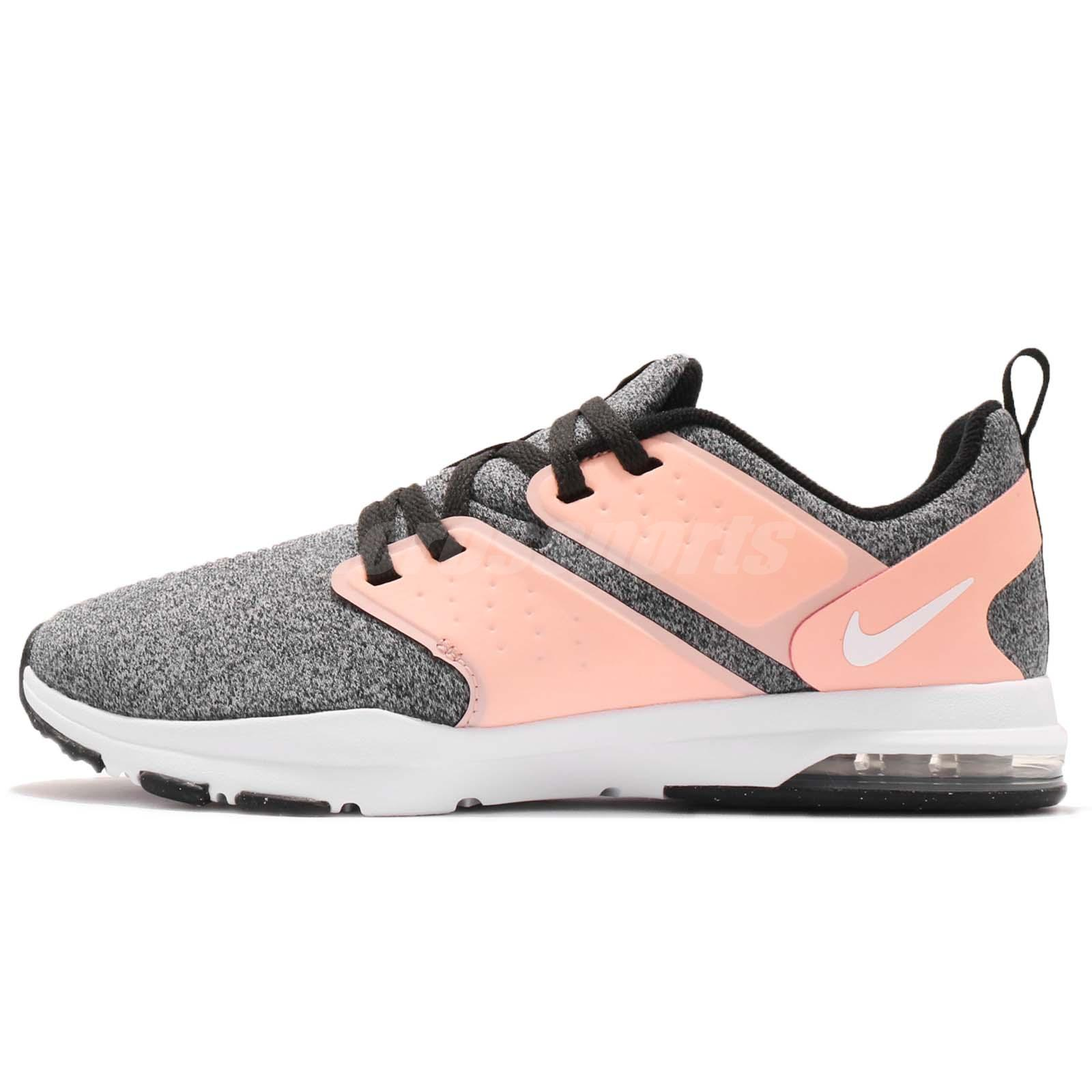 357861bb82 Nike Wmns Air Bella TR Pink Grey White Women Cross Training Shoes 924338-006