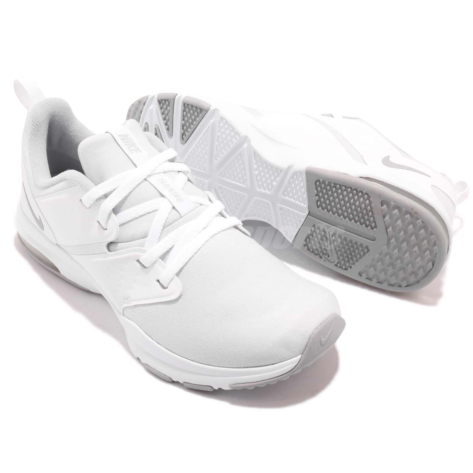 low priced a63fb d062b Nike Wmns Air Bella TR White Cool Grey Women Cross Training Shoes ...