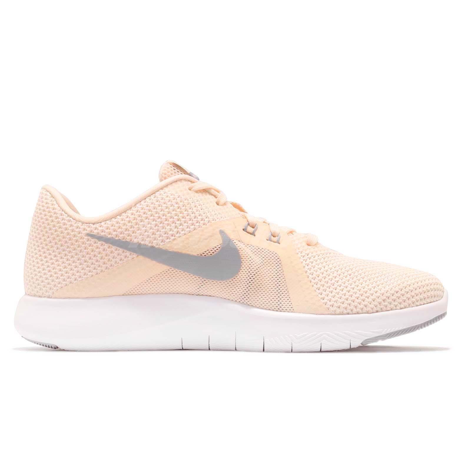 Nike Wmns Flex Trainer 8 VIII Guava Ice Grey Women Cross Training ... 98bc67a7498