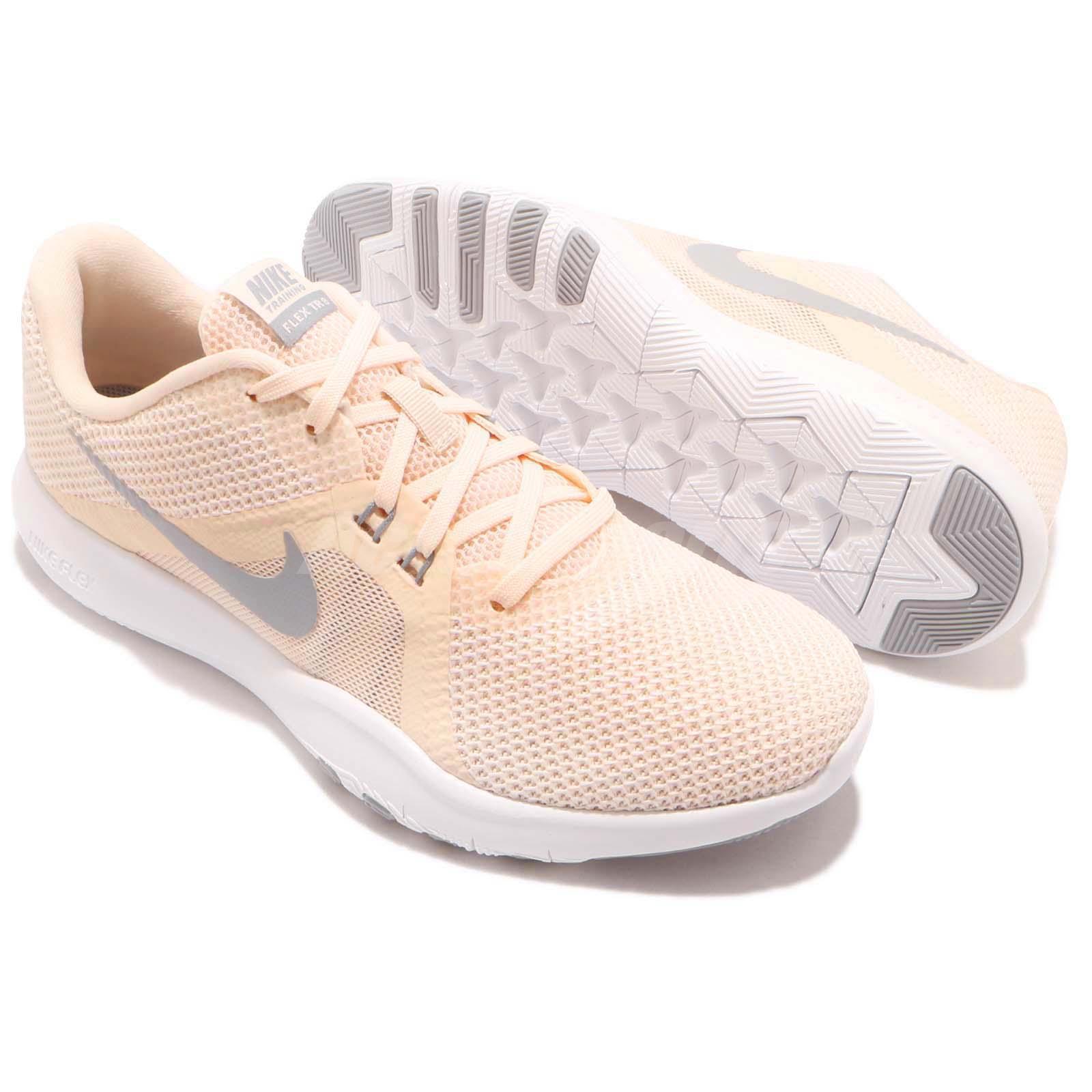 e3ec13faa03a Nike Wmns Flex Trainer 8 VIII Guava Ice Grey Women Cross Training ...