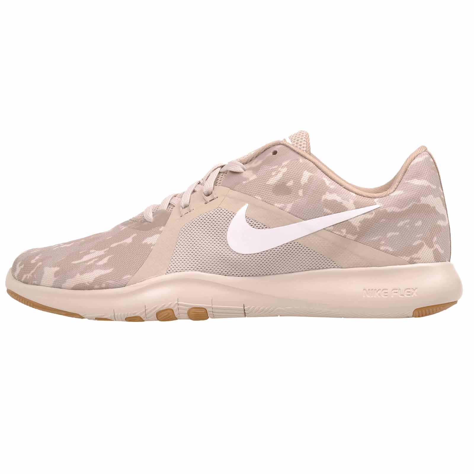 3970267d677b Details about Nike W Flex Trainer 8 Print Cross Training Womens Shoes  Desert Sand 924342-092