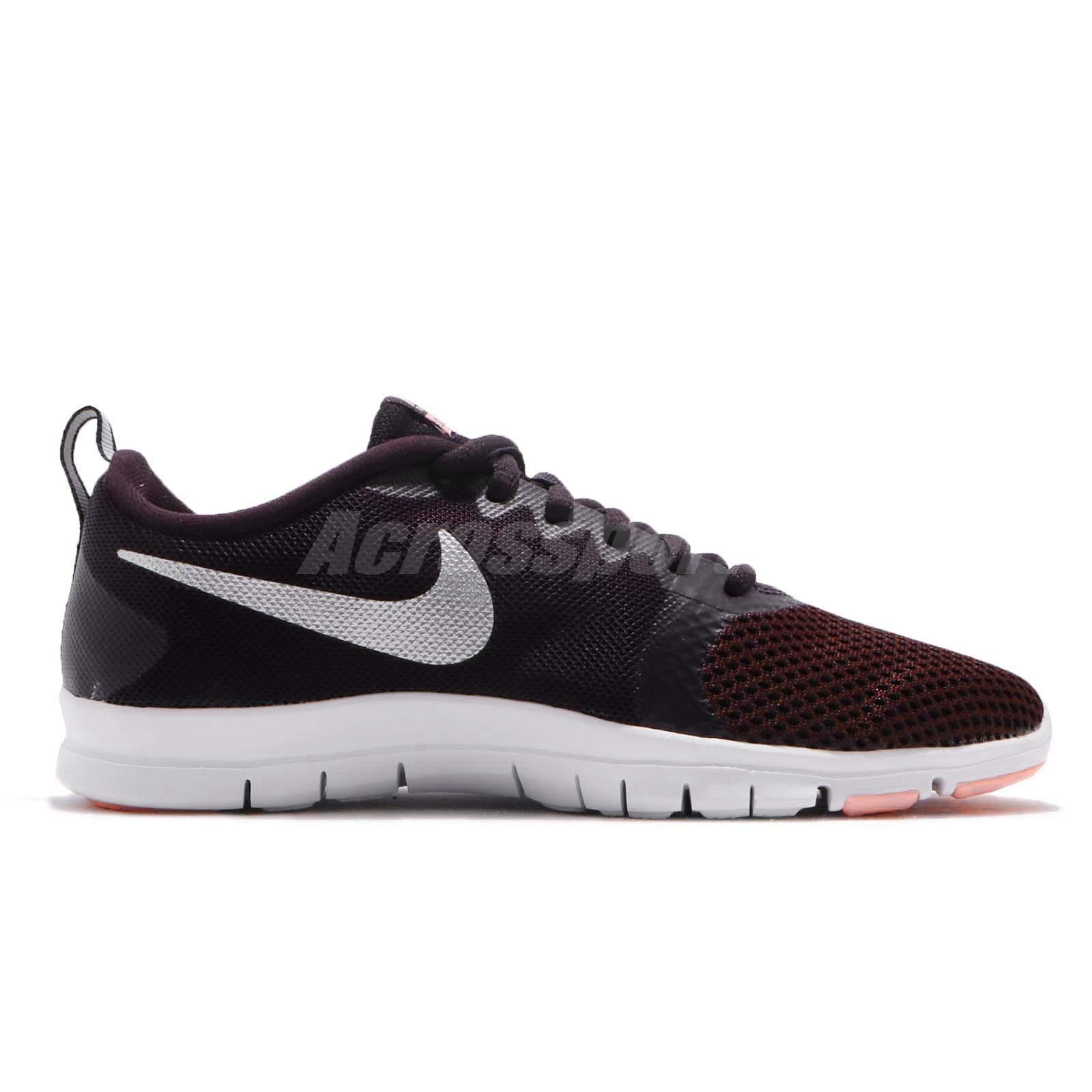 ca36bc2381 Nike Wmns Flex Essential TR Burgundy Ash Women Cross Training Shoes ...