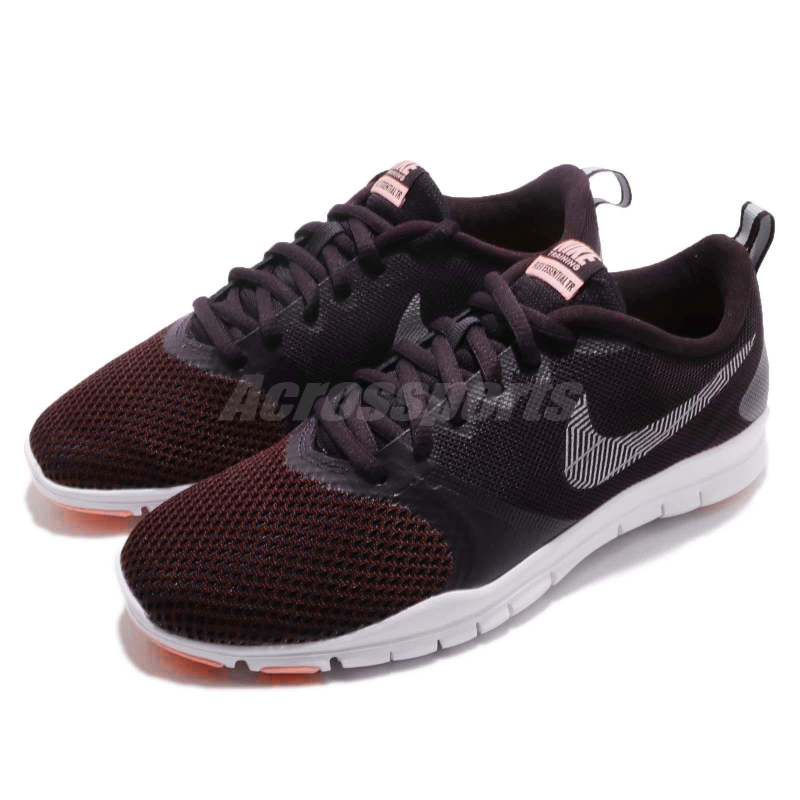 678abcd0da0c4 Details about Nike Wmns Flex Essential TR Burgundy Ash Women Cross Training  Shoes 924344-601