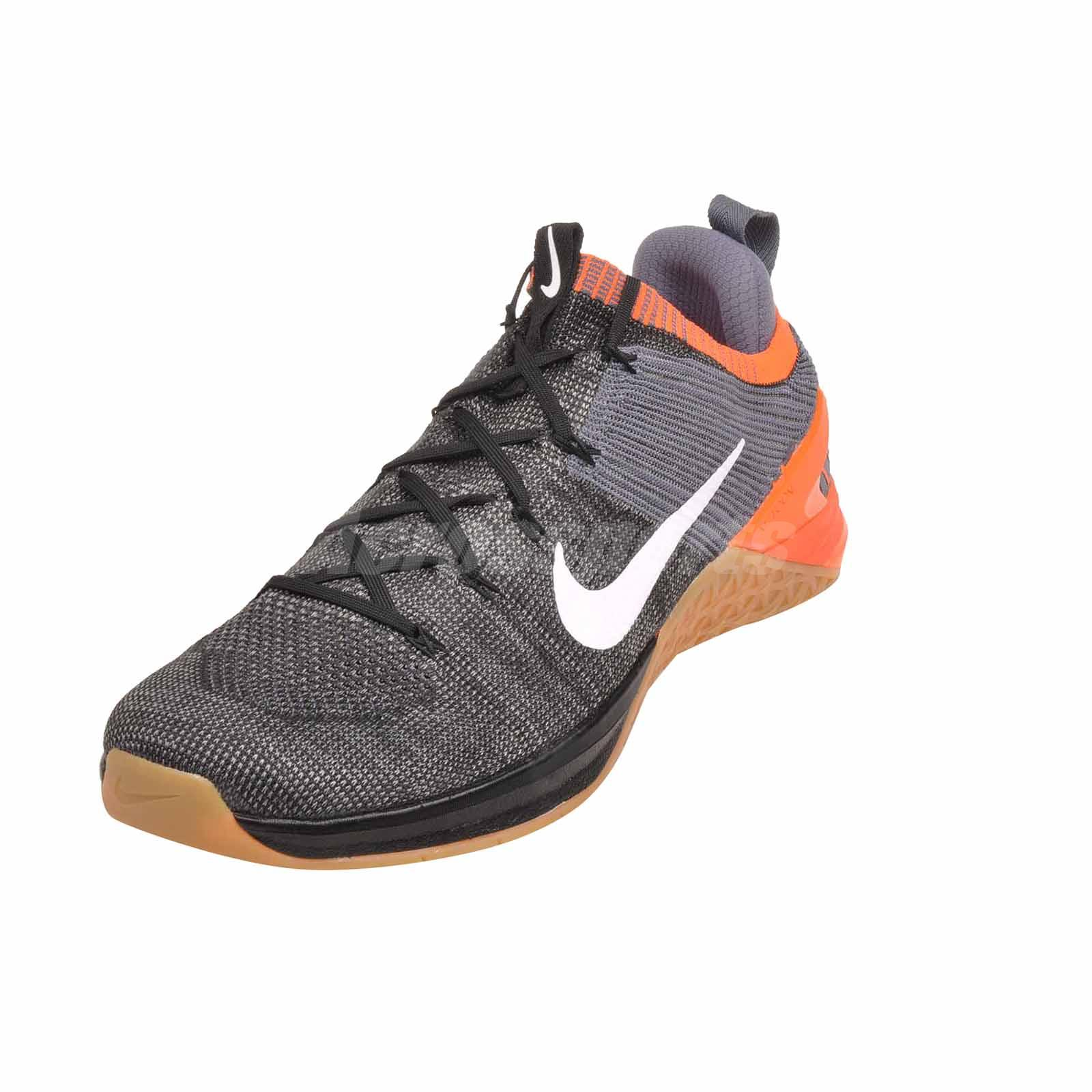 352bf200dc75 Nike Metcon DSX Flyknit 2 Cross Training Mens Shoes Black NWOB ...