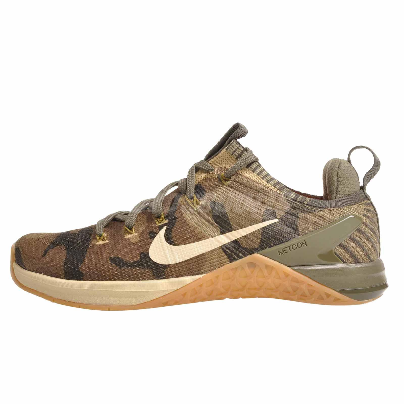 a8eb10693fd4 Nike Metcon DSX Flyknit 2 Mens Cross Training Shoes Trainers Olive  924423-300