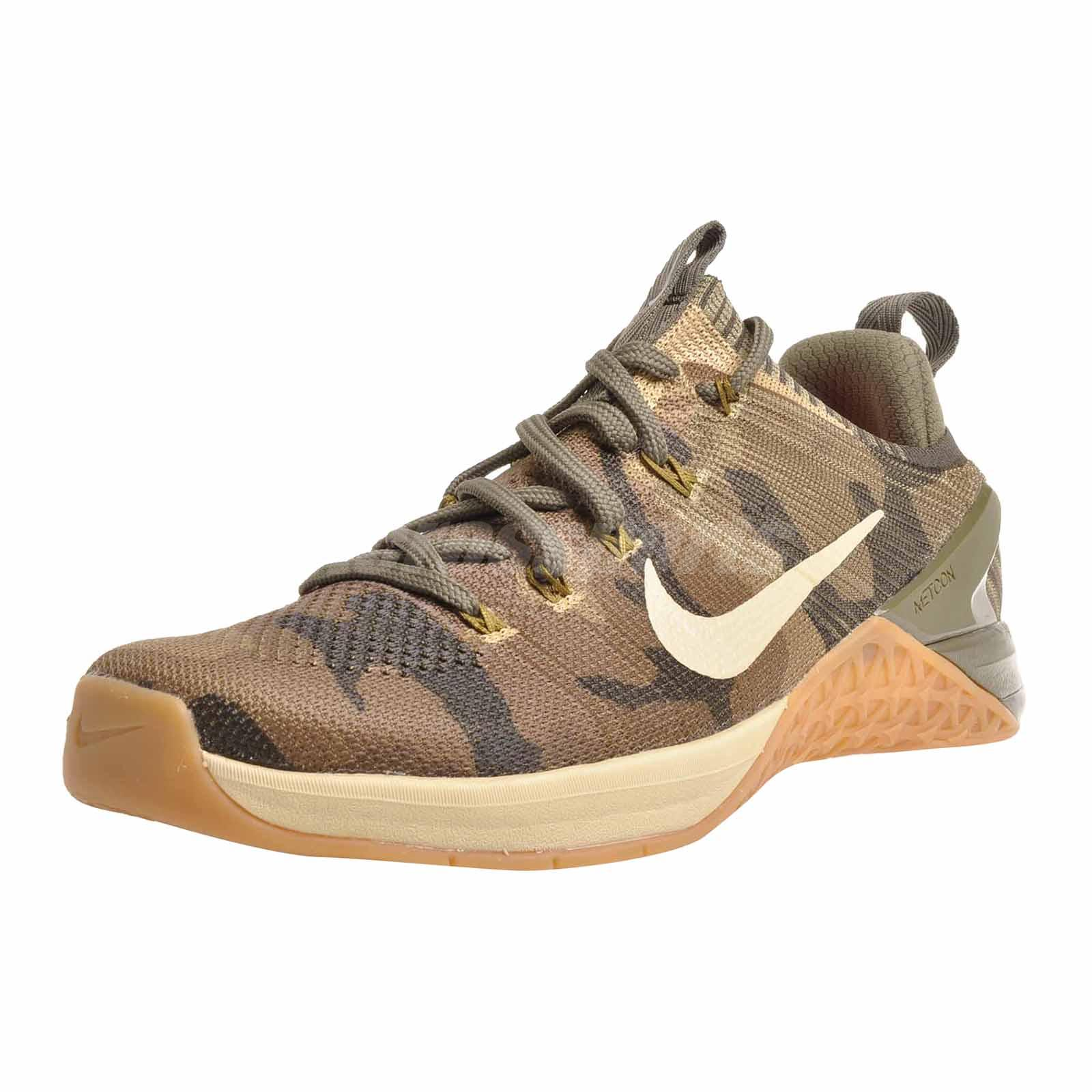 4e07ac12d4a3 Nike Metcon DSX Flyknit 2 Mens Cross Training Shoes Trainers Olive ...