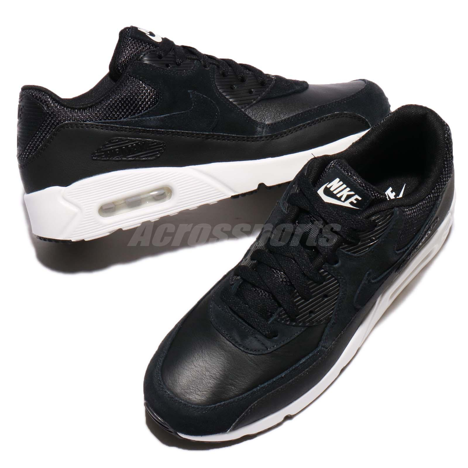 wholesale dealer 6dfc8 96353 Shoes Nike Air Max 90 Ultra 2.0 LTR Leather Black Summit White Men Running  924447-001 ...