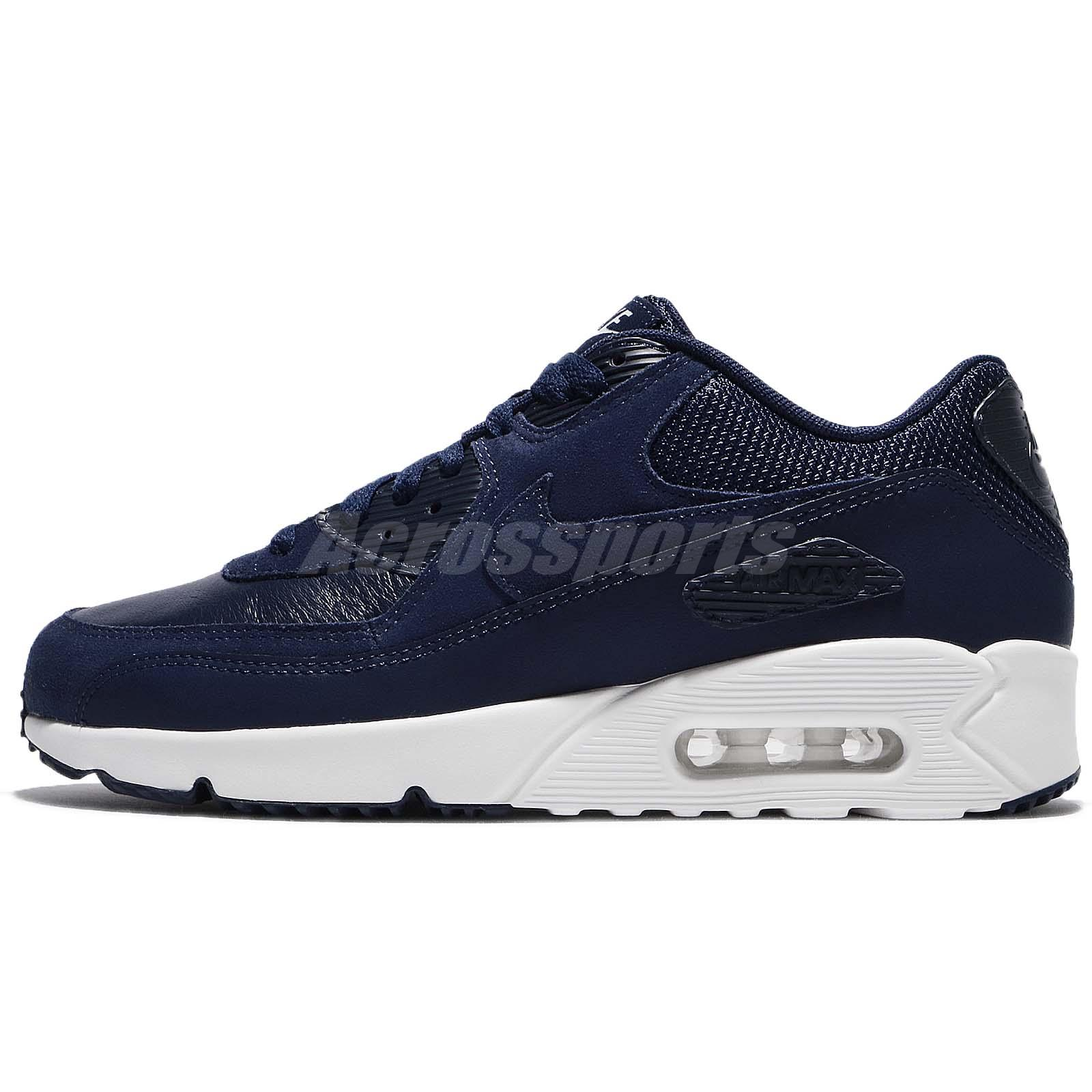 new style 0c560 a4c02 ... italy nike air max 90 ultra 2.0 ltr leather midnight navy men running  924447 400 c8736 ...