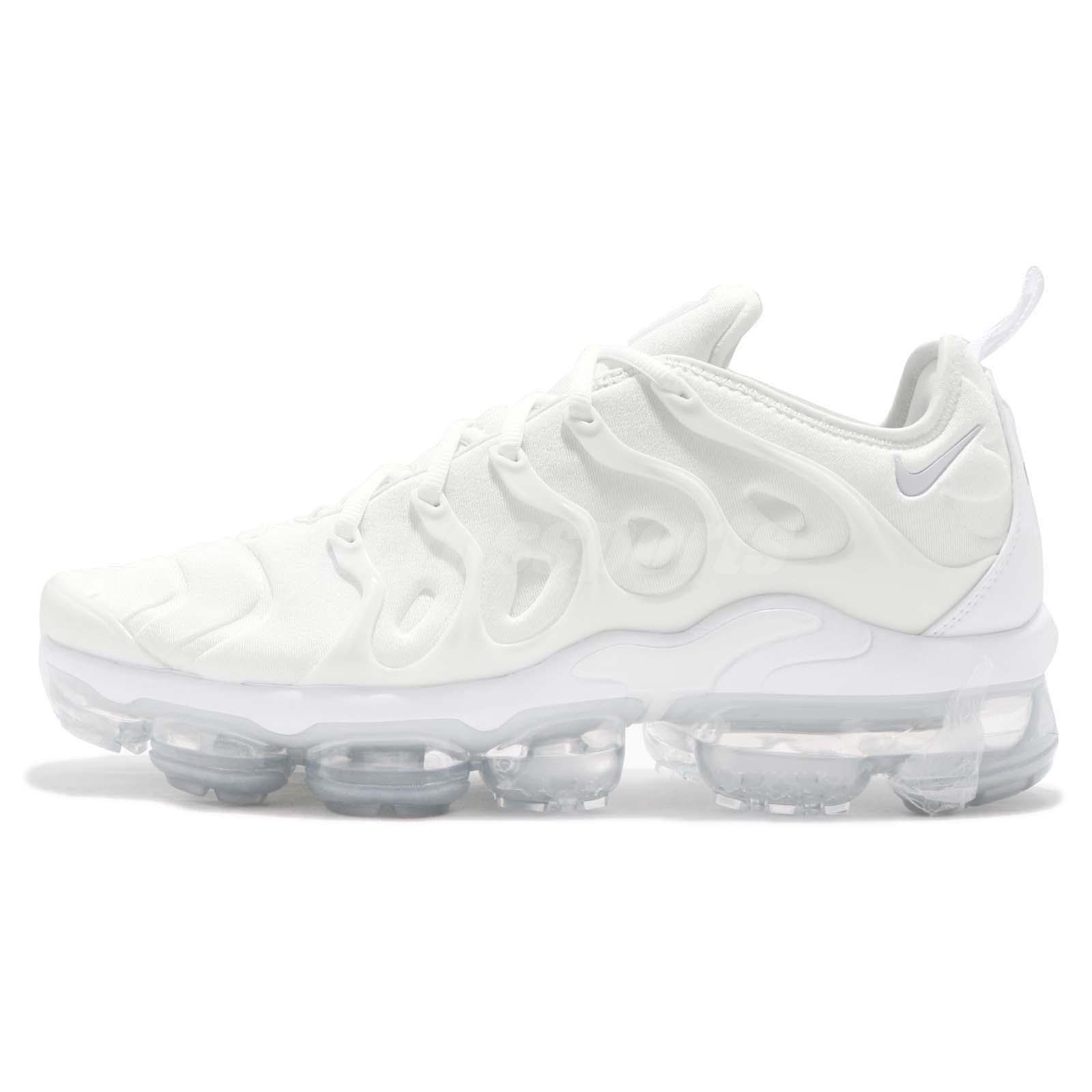 detailed look 1dfc5 51b6f ... 50% off nike air vapormax plus white pure platinum men running shoes  sneakers 924453 100