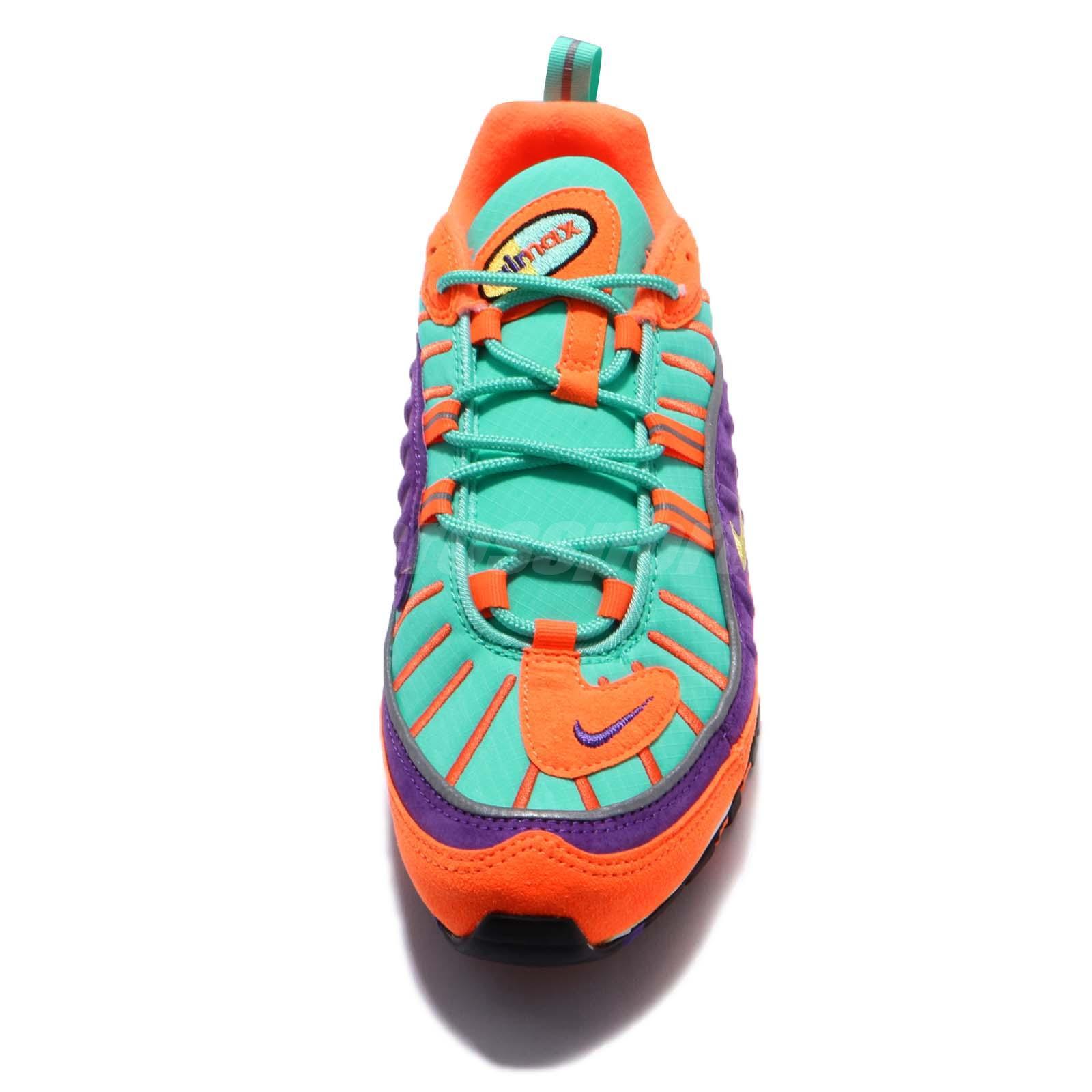 best website 24d39 116b9 Nike Air Max 98 QS Cone Vibrant Air Tour Yellow Grape Men Limited ...
